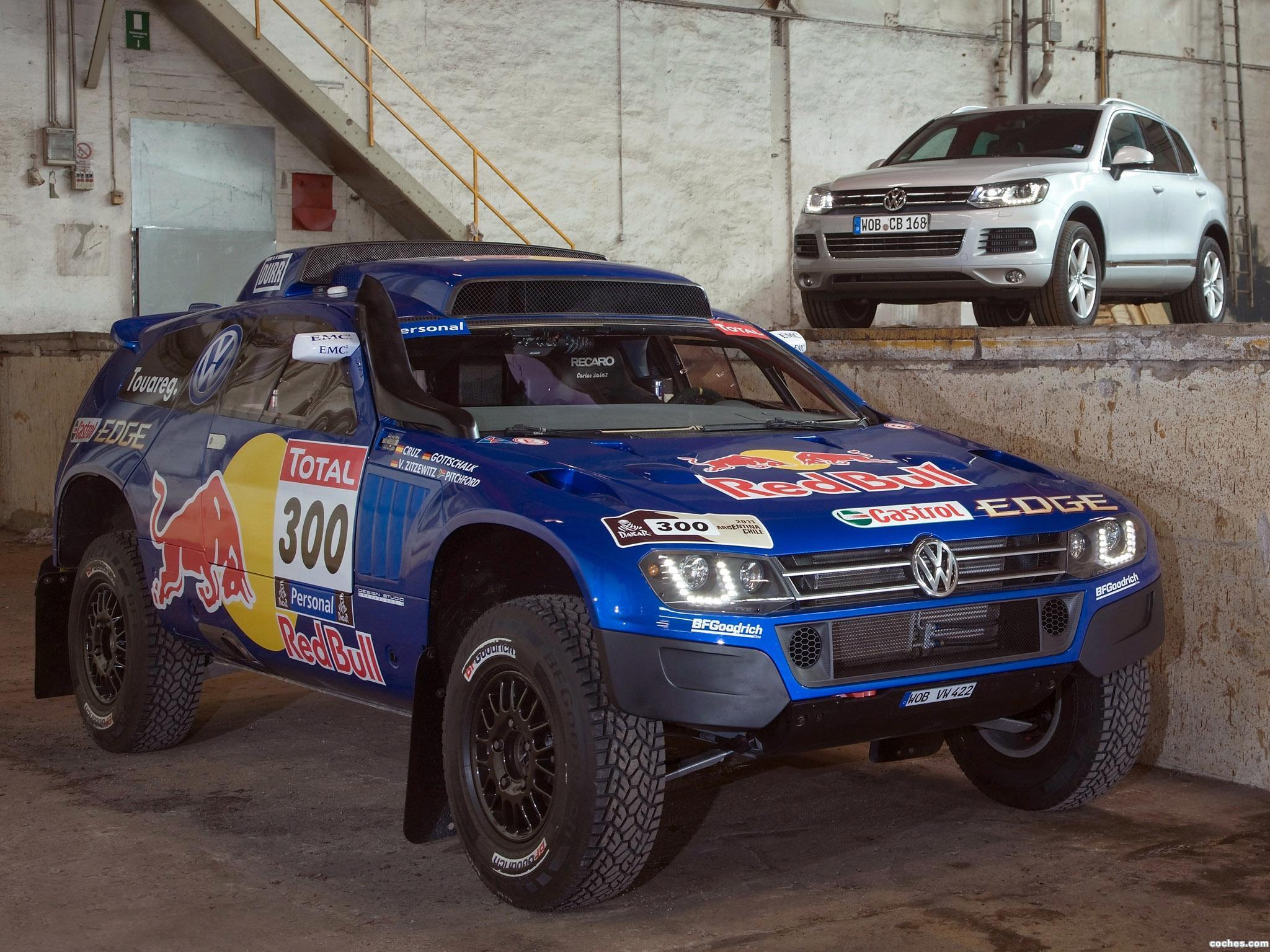 Foto 0 de Volkswagen Race Touareg III 2010