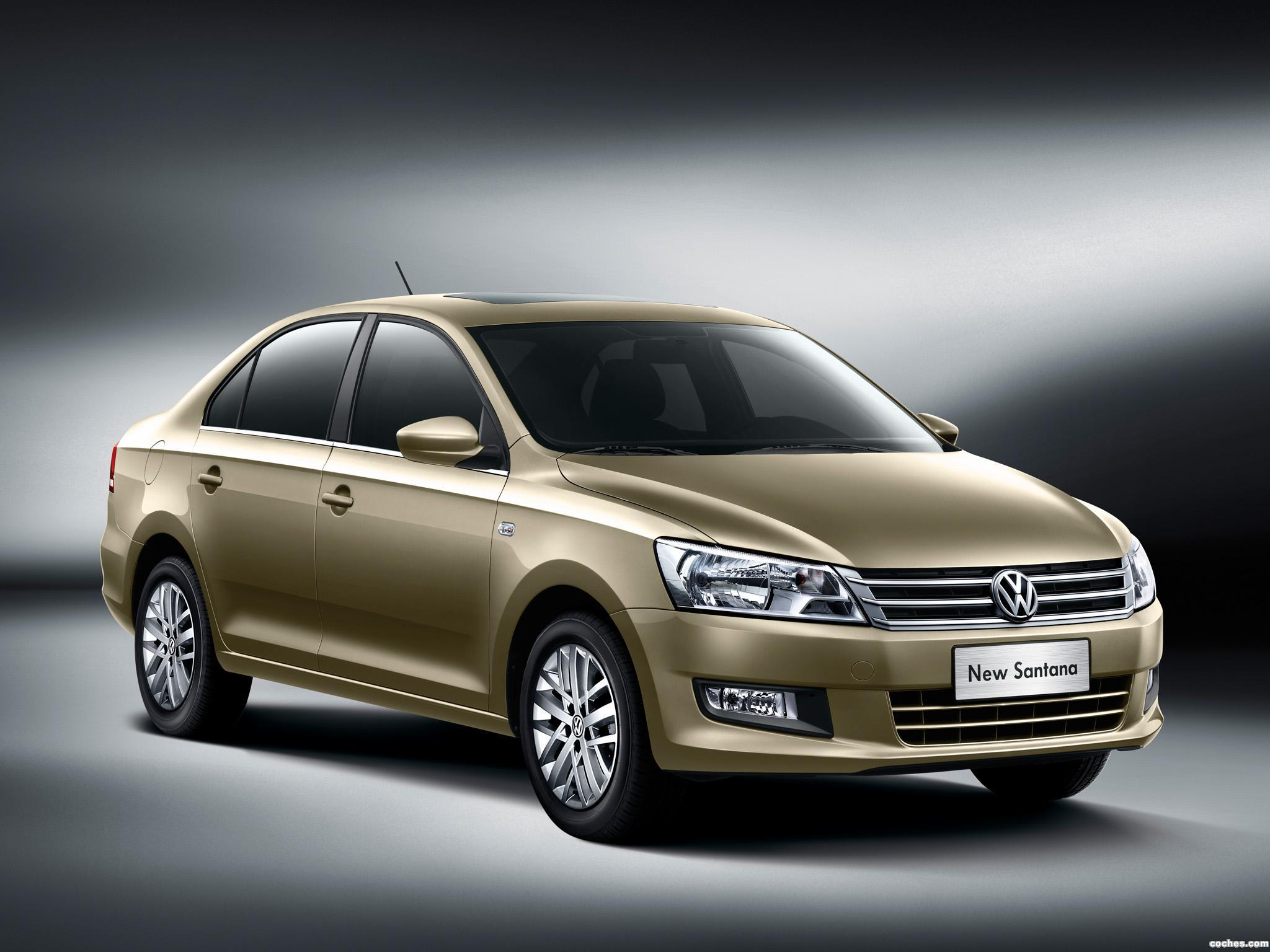Foto 0 de Volkswagen Santana China 2012