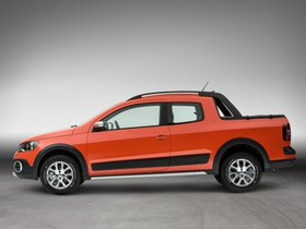 Ver foto 3 de Volkswagen Saveiro Cross CD 2014