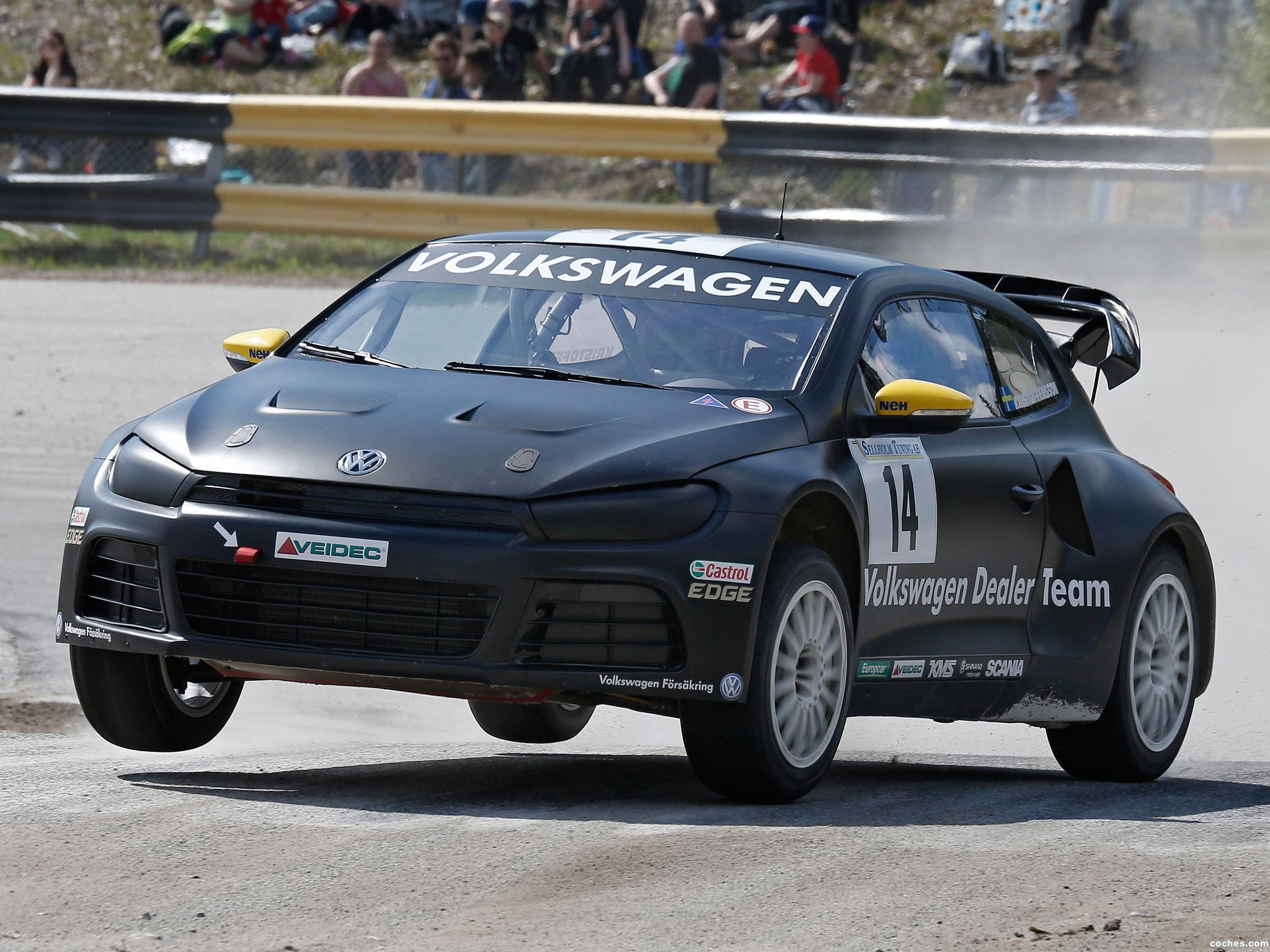 Foto 0 de Volkswagen Scirocco Rallycross 2013