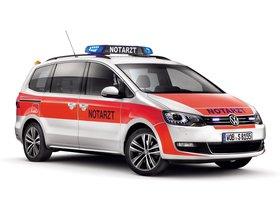 Ver foto 3 de Volkswagen Sharan Notarzt 2012