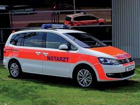 Ver foto 2 de Volkswagen Sharan Notarzt 2012