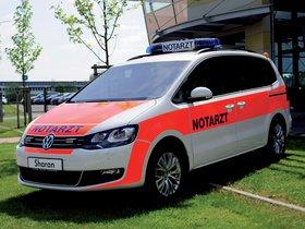 Fotos de Volkswagen Sharan Notarzt 2012