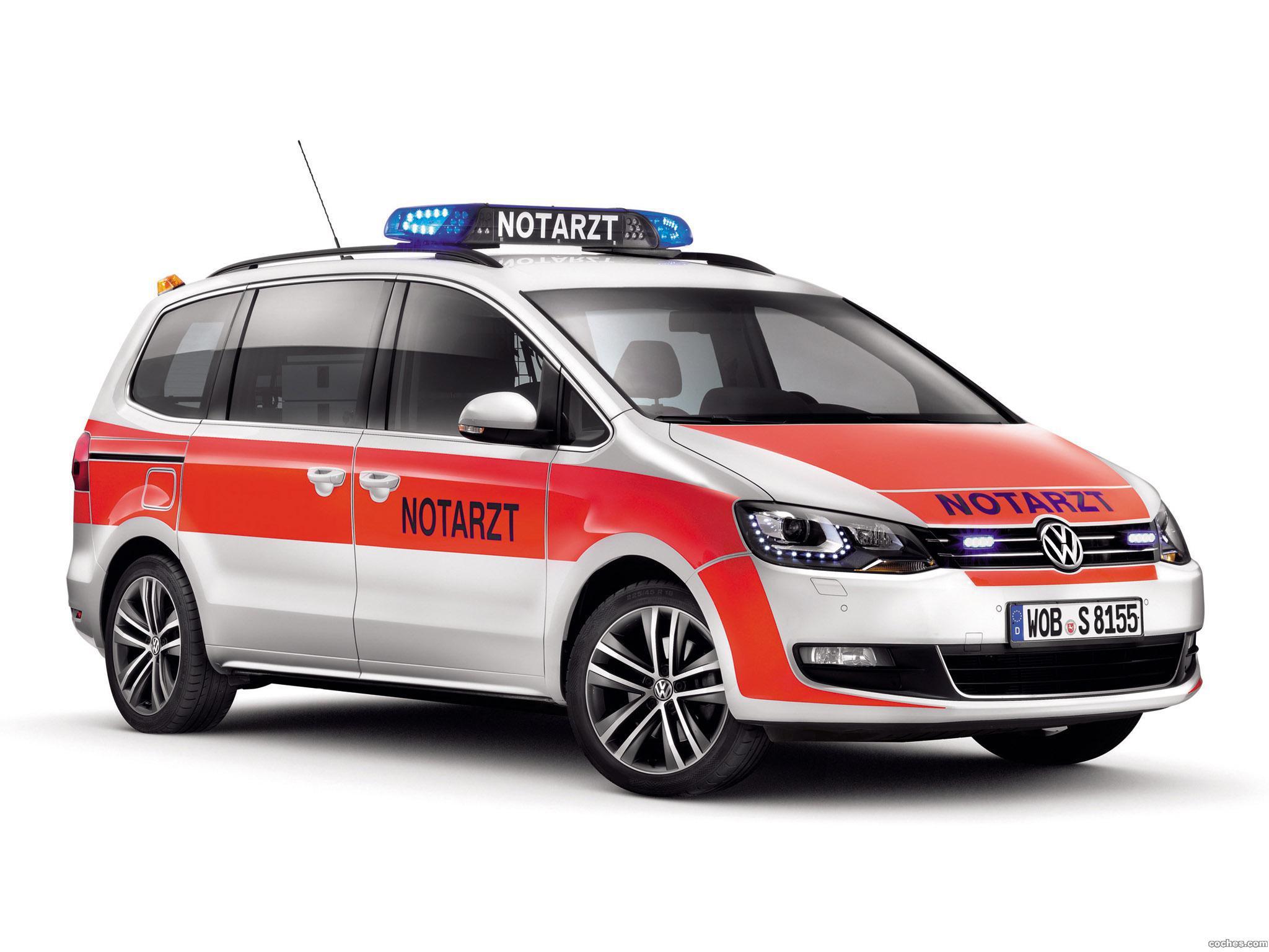 Foto 2 de Volkswagen Sharan Notarzt 2012