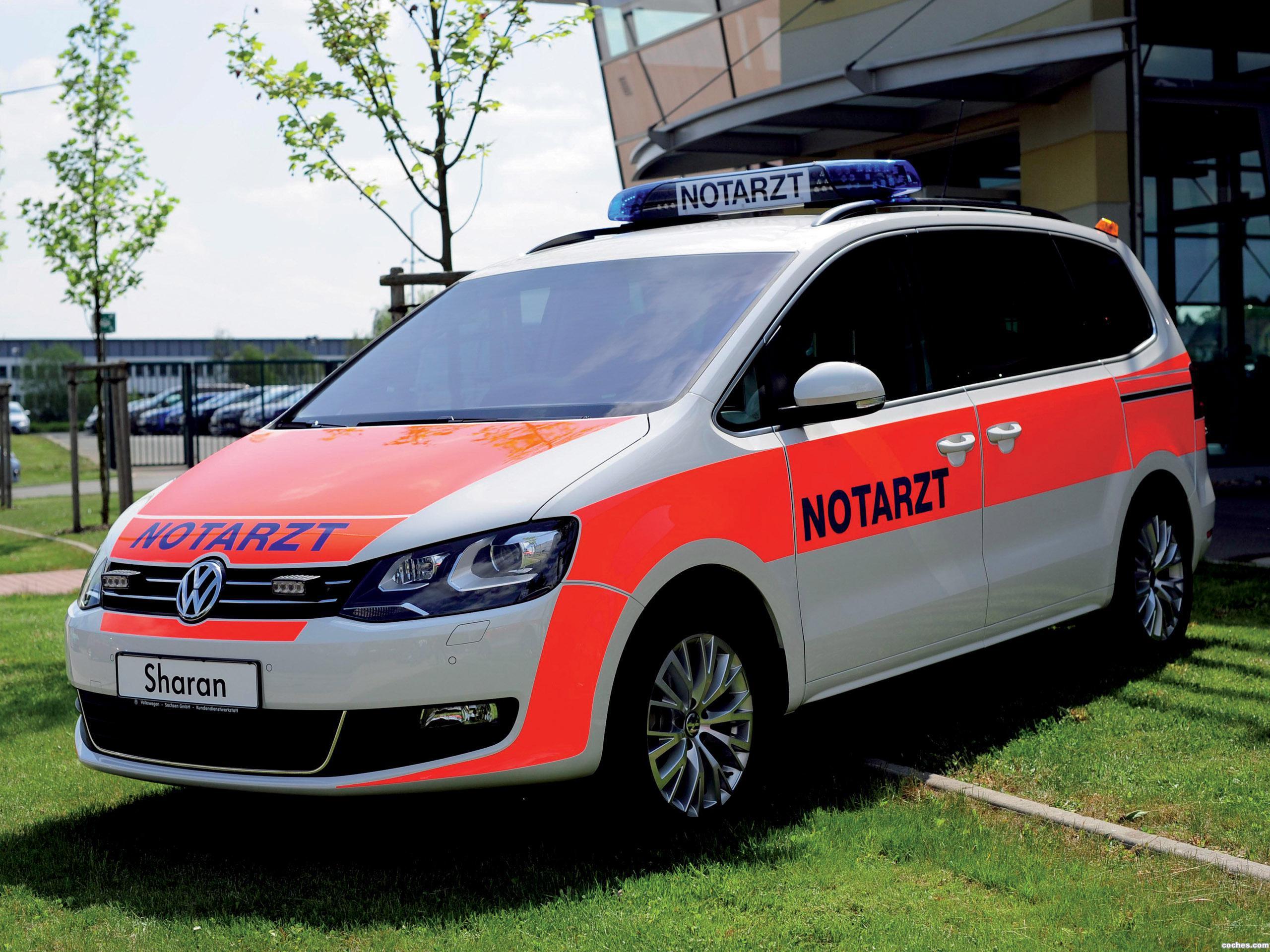 Foto 0 de Volkswagen Sharan Notarzt 2012
