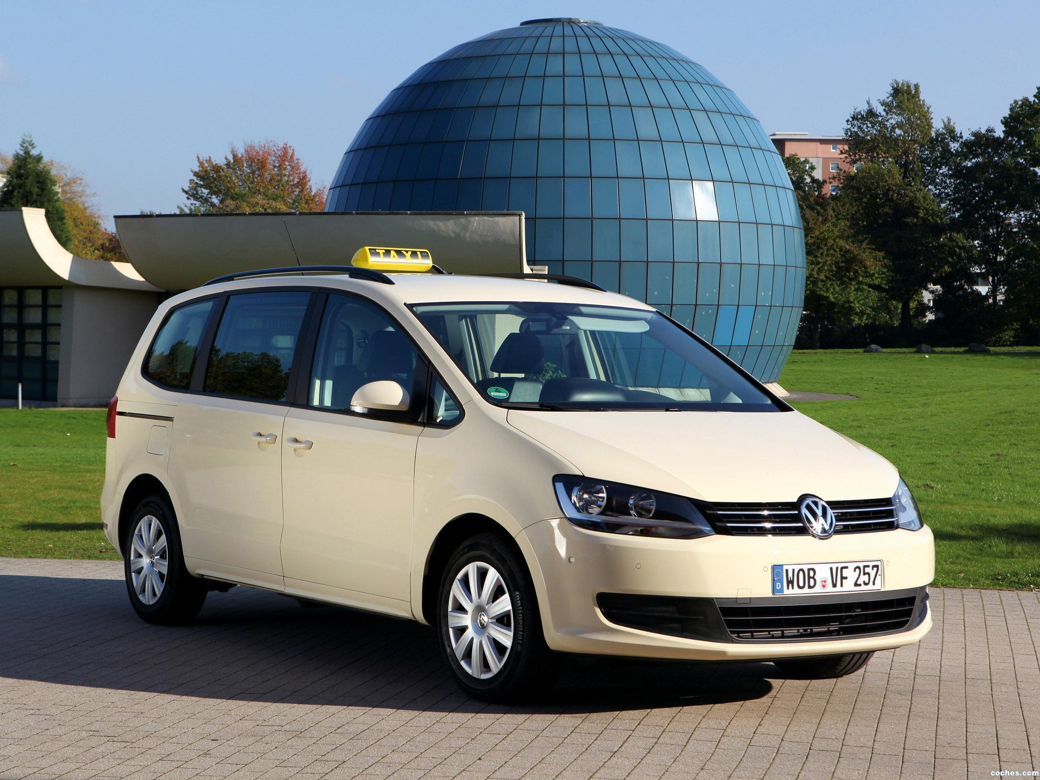 Foto 0 de Volkswagen Sharan Taxi 2010
