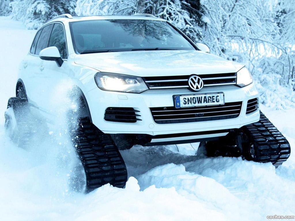 Foto 0 de Volkswagen Touareg Snowareg 2012
