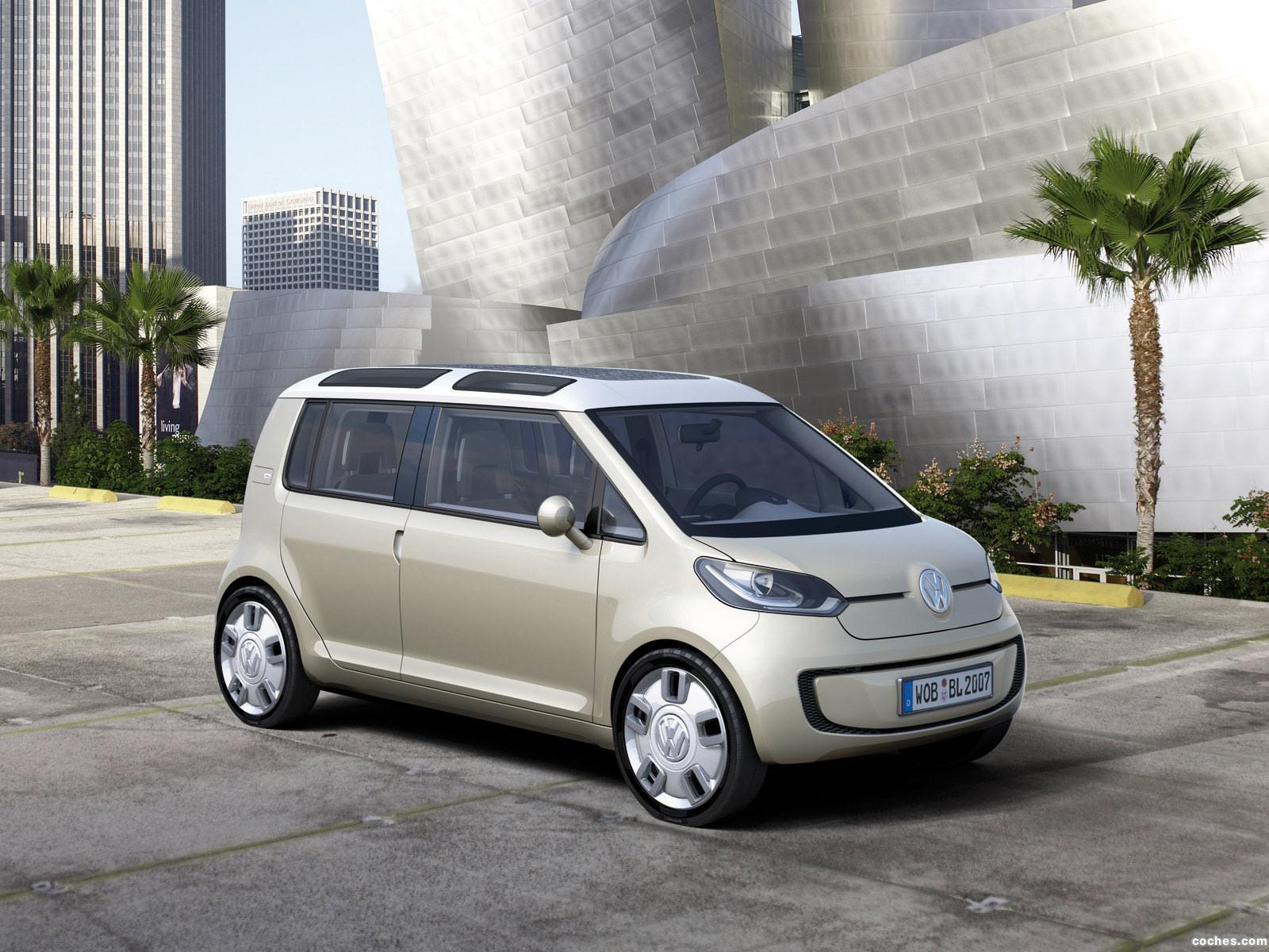 Foto 0 de Volkswagen Space UP Blue Concept 2007