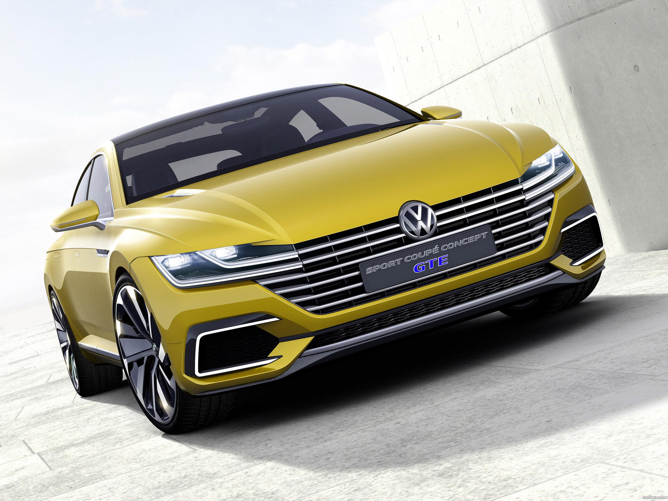 Foto 0 de Volkswagen Sport Coupe Concept 2015