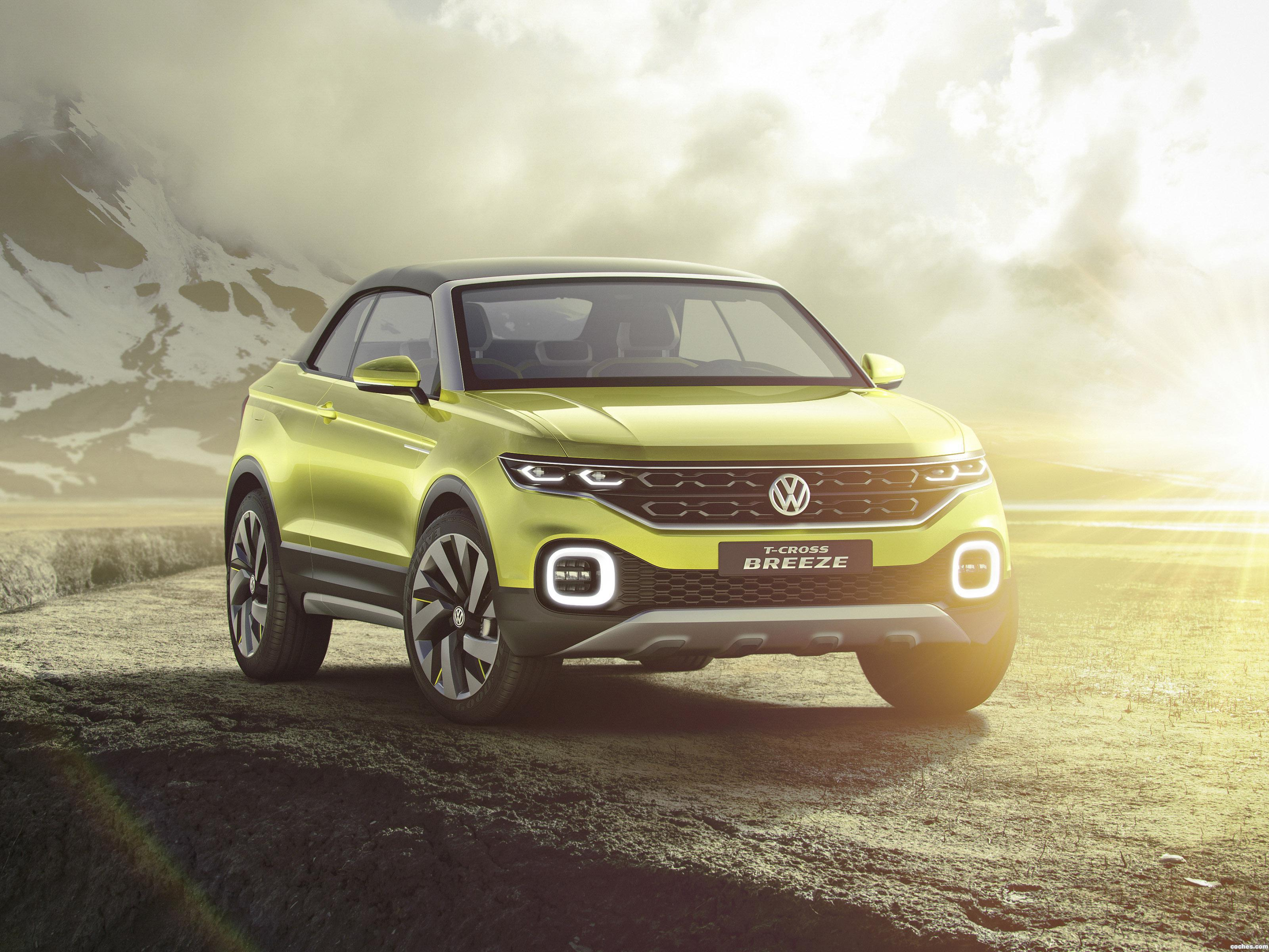 Foto 0 de Volkswagen T Cross Breeze Concept