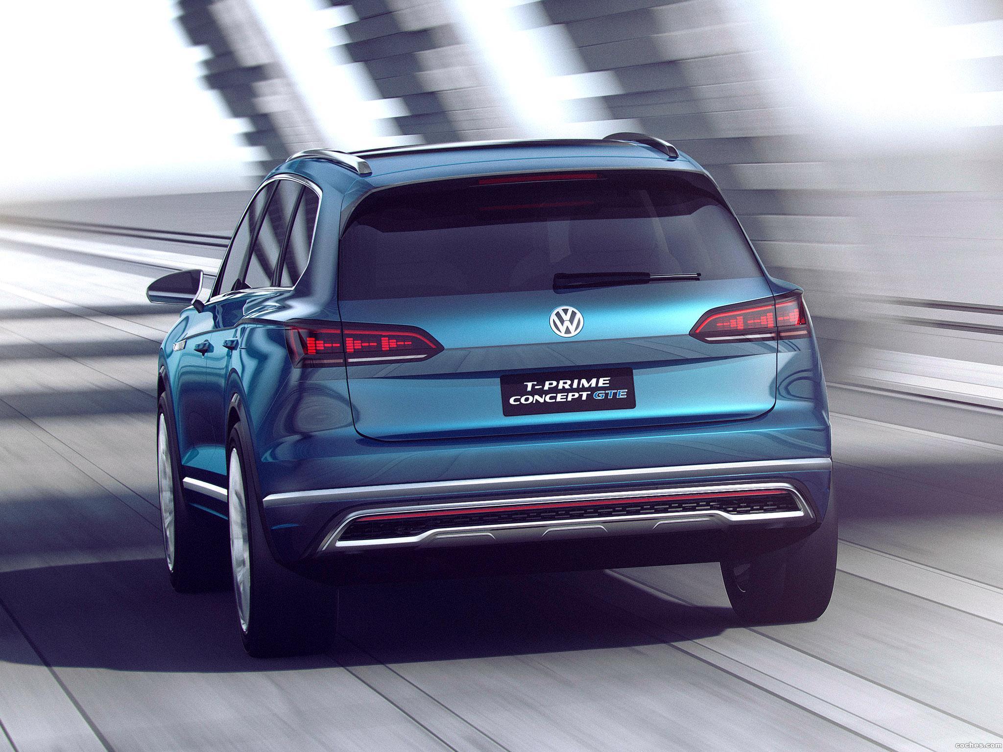 Foto 9 de Volkswagen T Prime GTE Concept 2016
