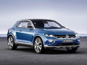 Ver foto 9 de Volkswagen T-ROC Concept 2014
