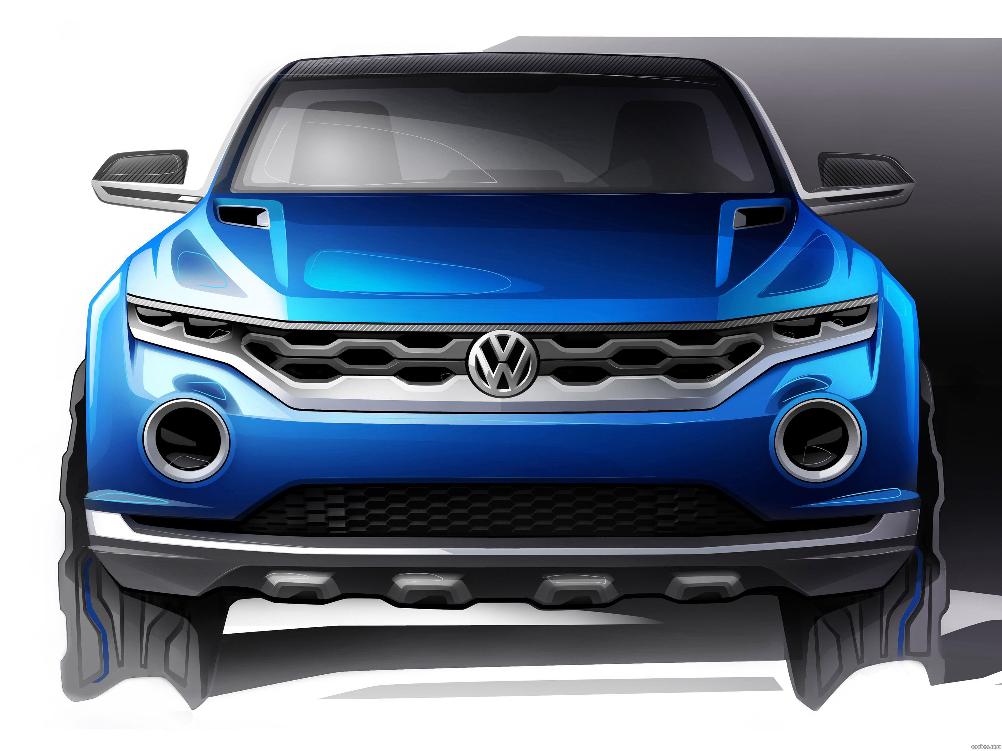 Foto 0 de Volkswagen T-ROC Concept 2014