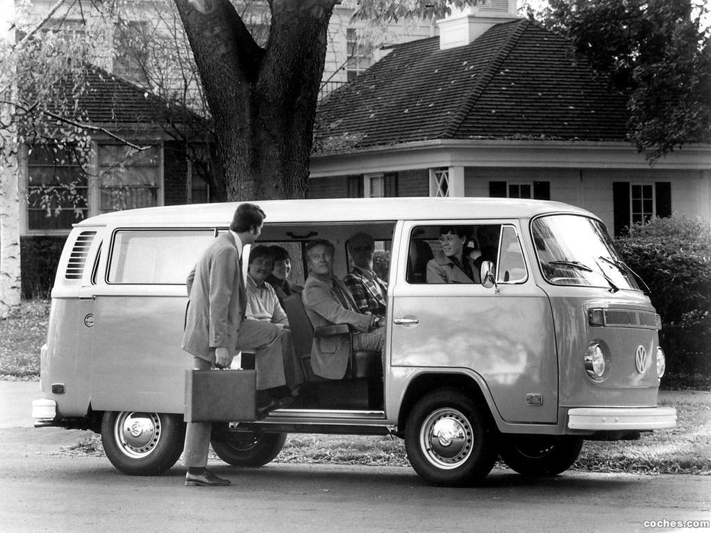 Foto 3 de Volkswagen Transporter T2 Bus 1972