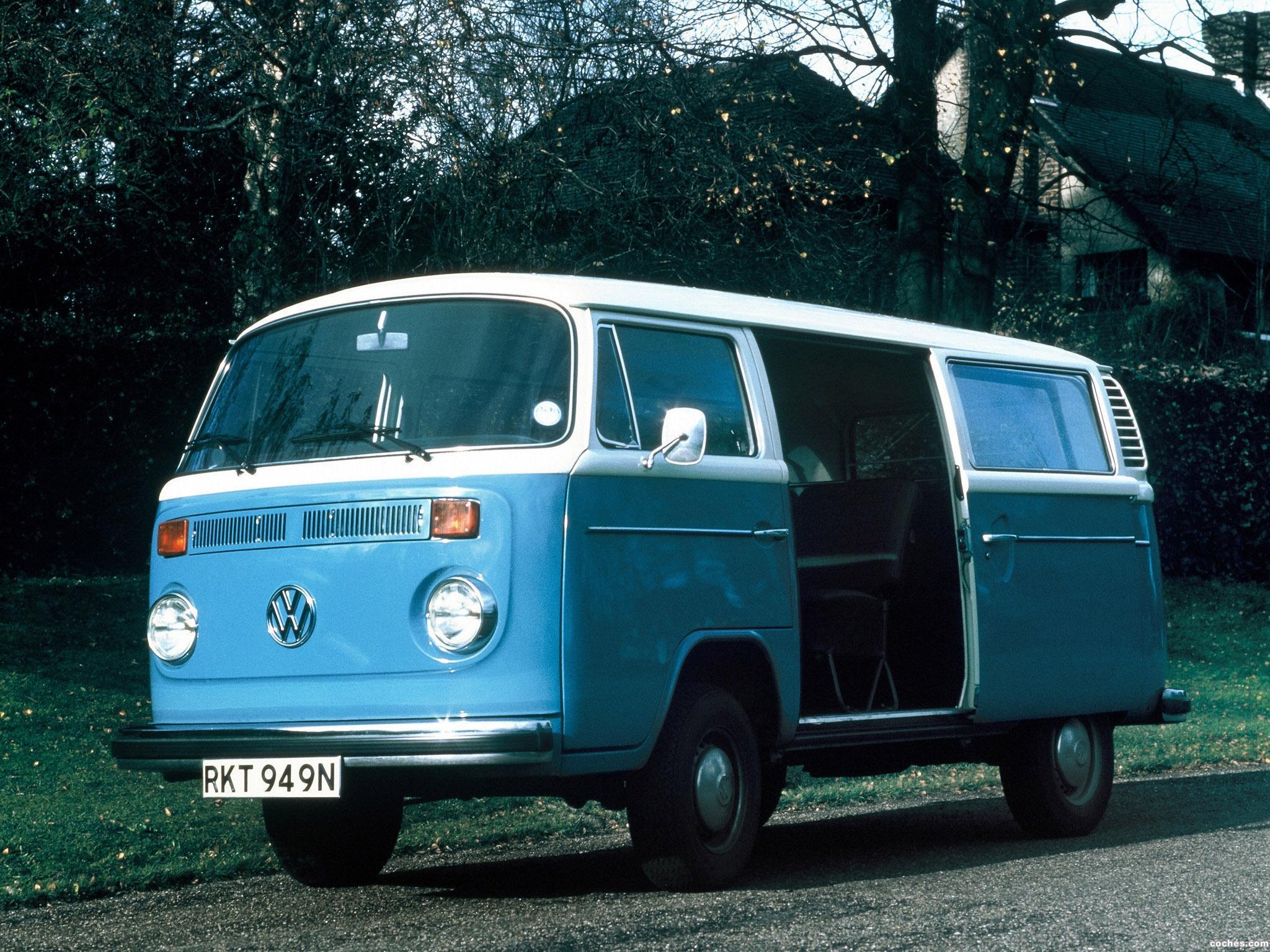 Foto 0 de Volkswagen Transporter T2 Bus 1972