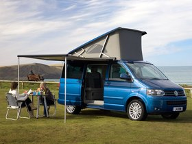 Fotos de Volkswagen Transporter T5 California UK 2009