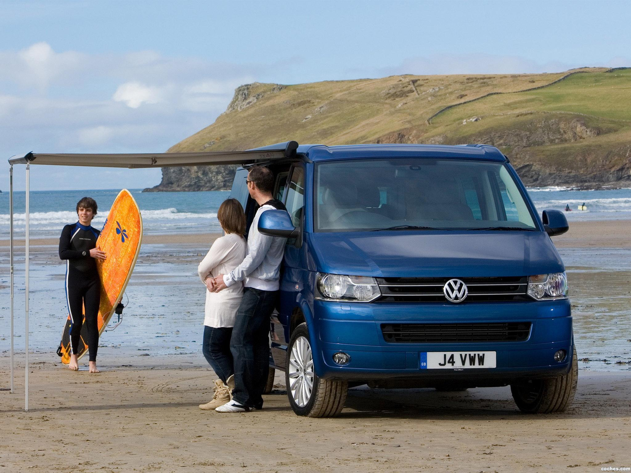 Foto 2 de Volkswagen California T5 UK 2009