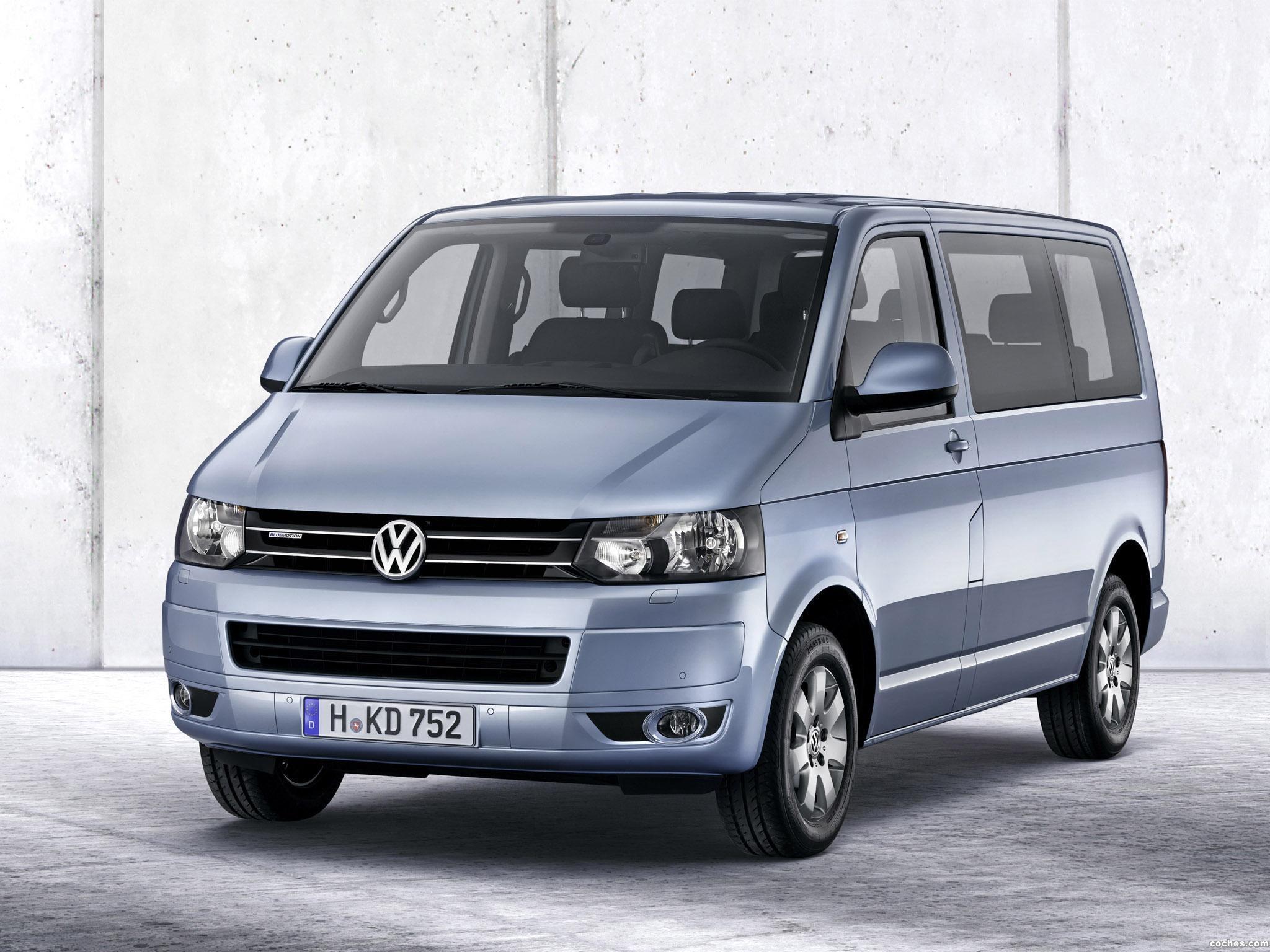Foto 0 de Volkswagen Transporter T5 Multivan BlueMotion 2011