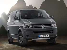 Fotos de Volkswagen Transporter T5 Combi Rockton 2010
