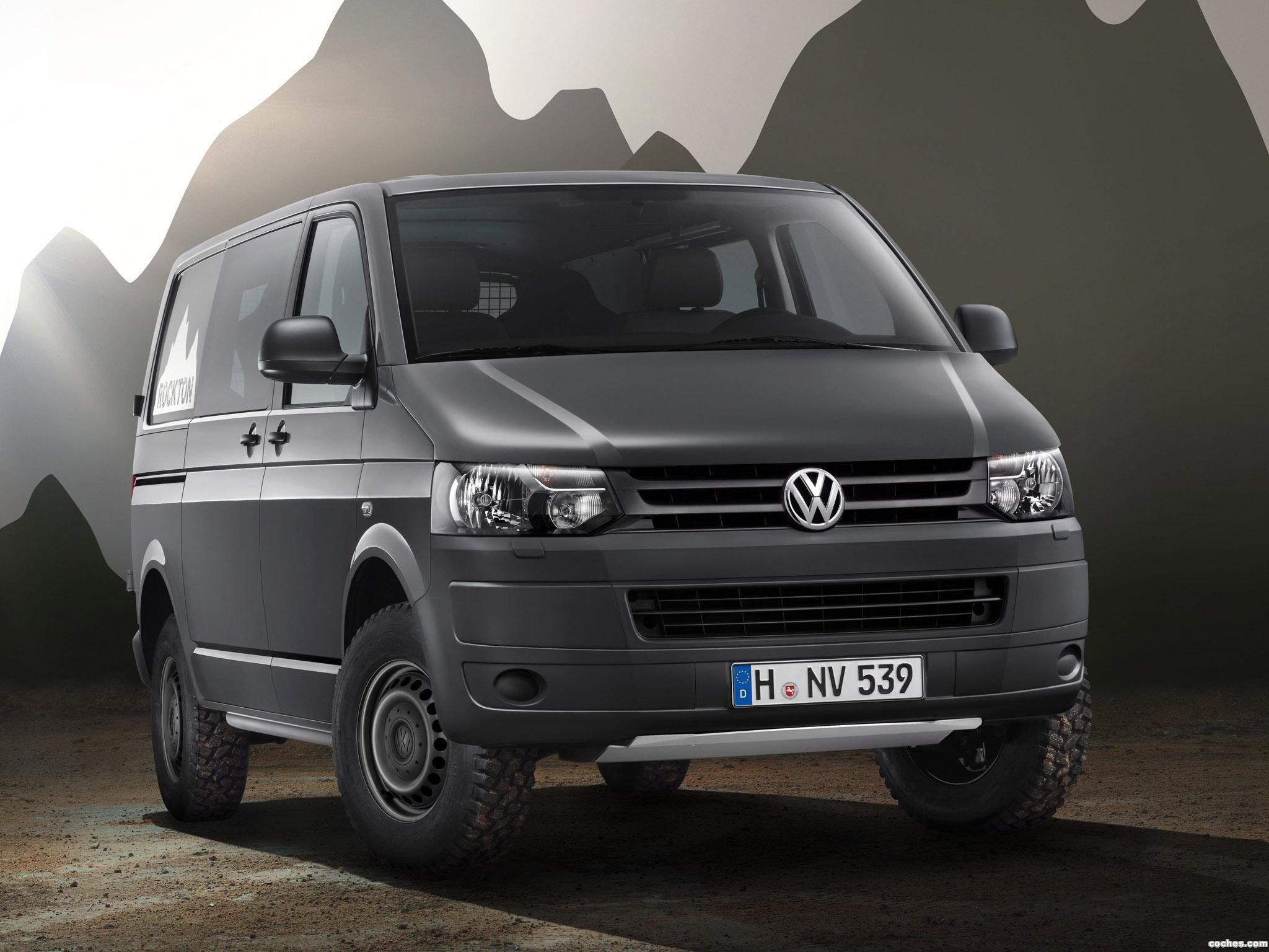 Foto 0 de Volkswagen Transporter T5 Combi Rockton 2010