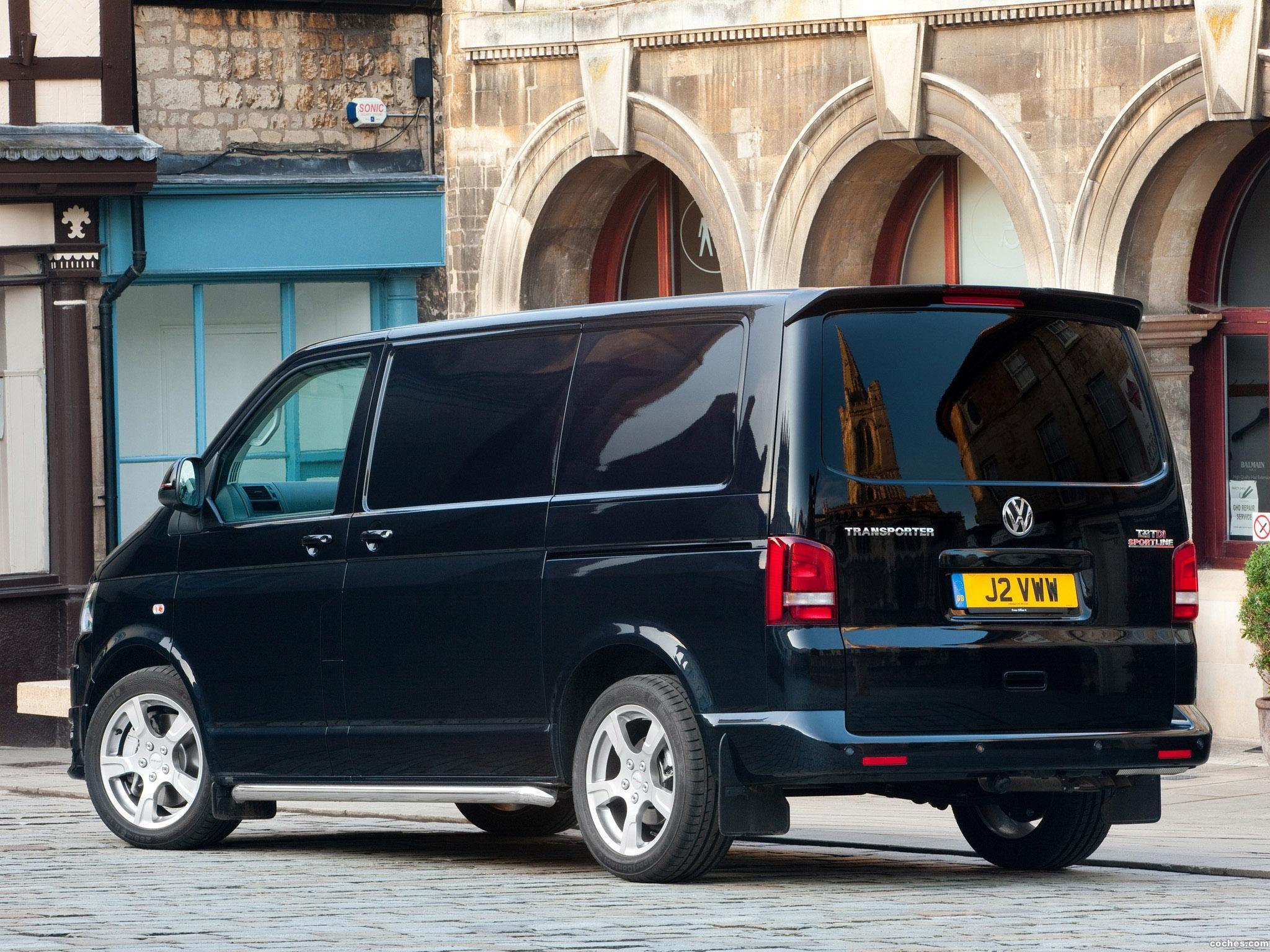 Foto 2 de Volkswagen Transporter T5 Sportline UK 2011