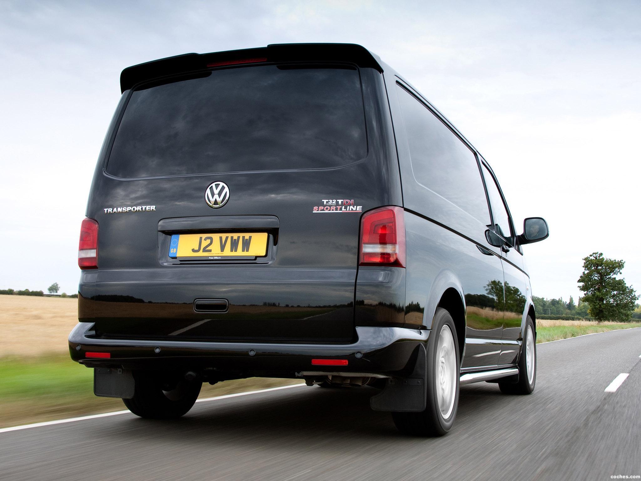 Foto 11 de Volkswagen Transporter T5 Sportline UK 2011