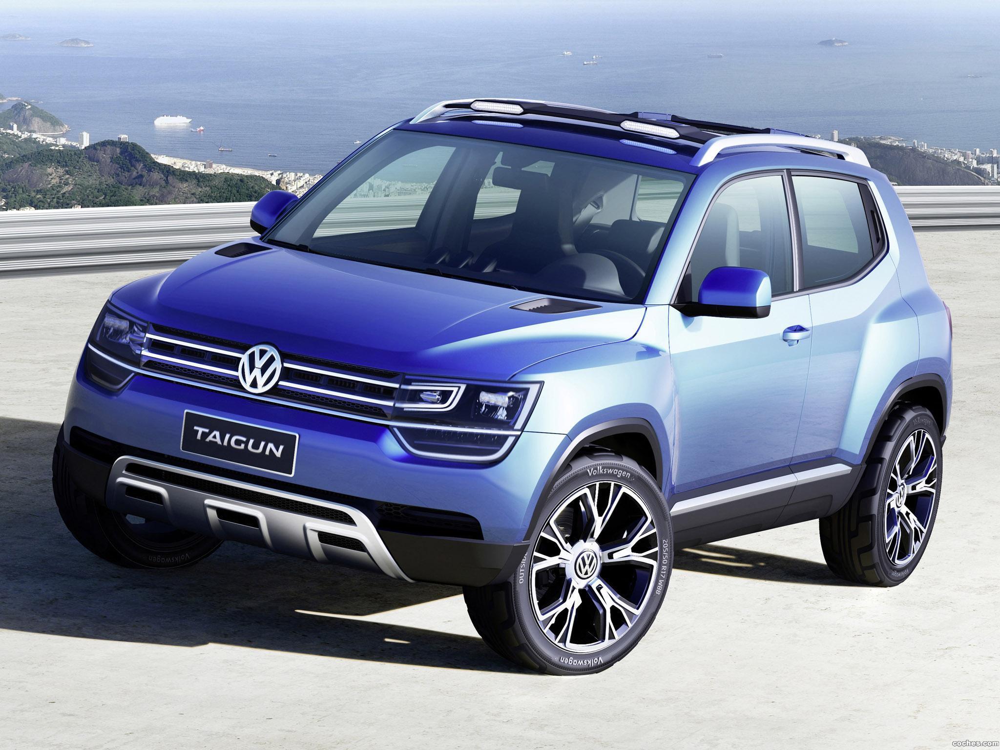 Foto 0 de Volkswagen Taigun Concept 2012