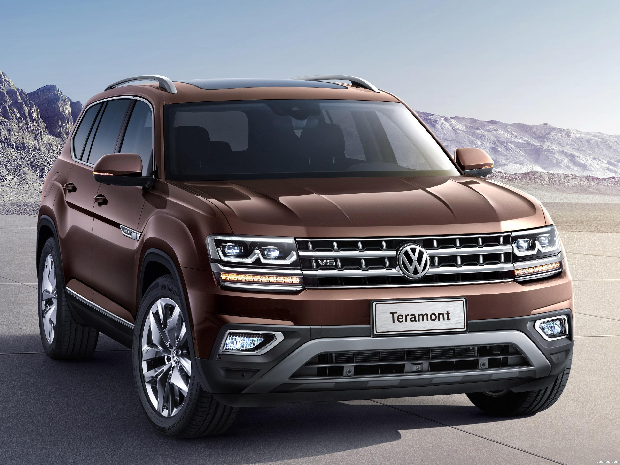 Foto 0 de Volkswagen Teramont China  2017