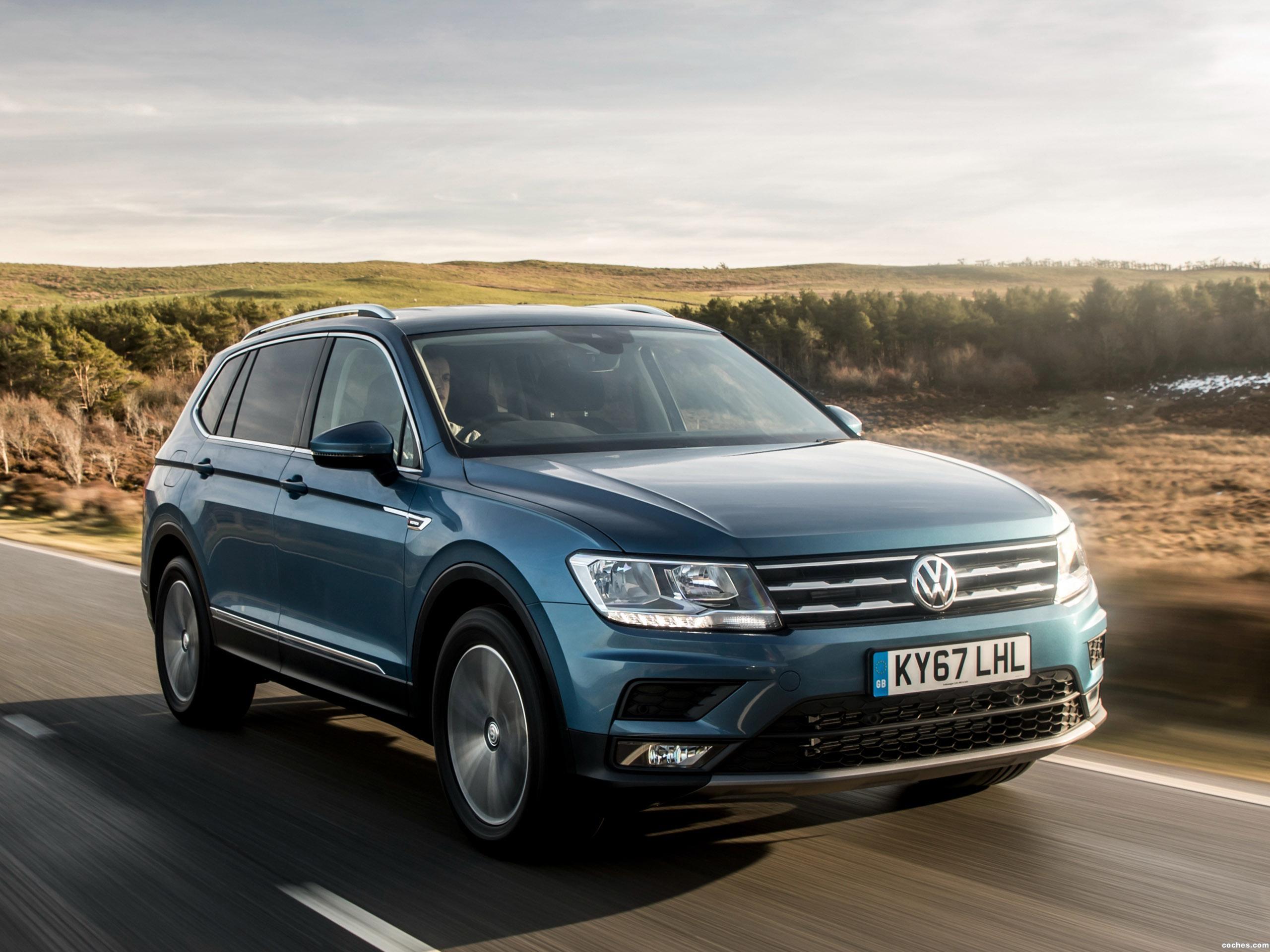 Foto 21 de Volkswagen Tiguan Allspace UK  2018