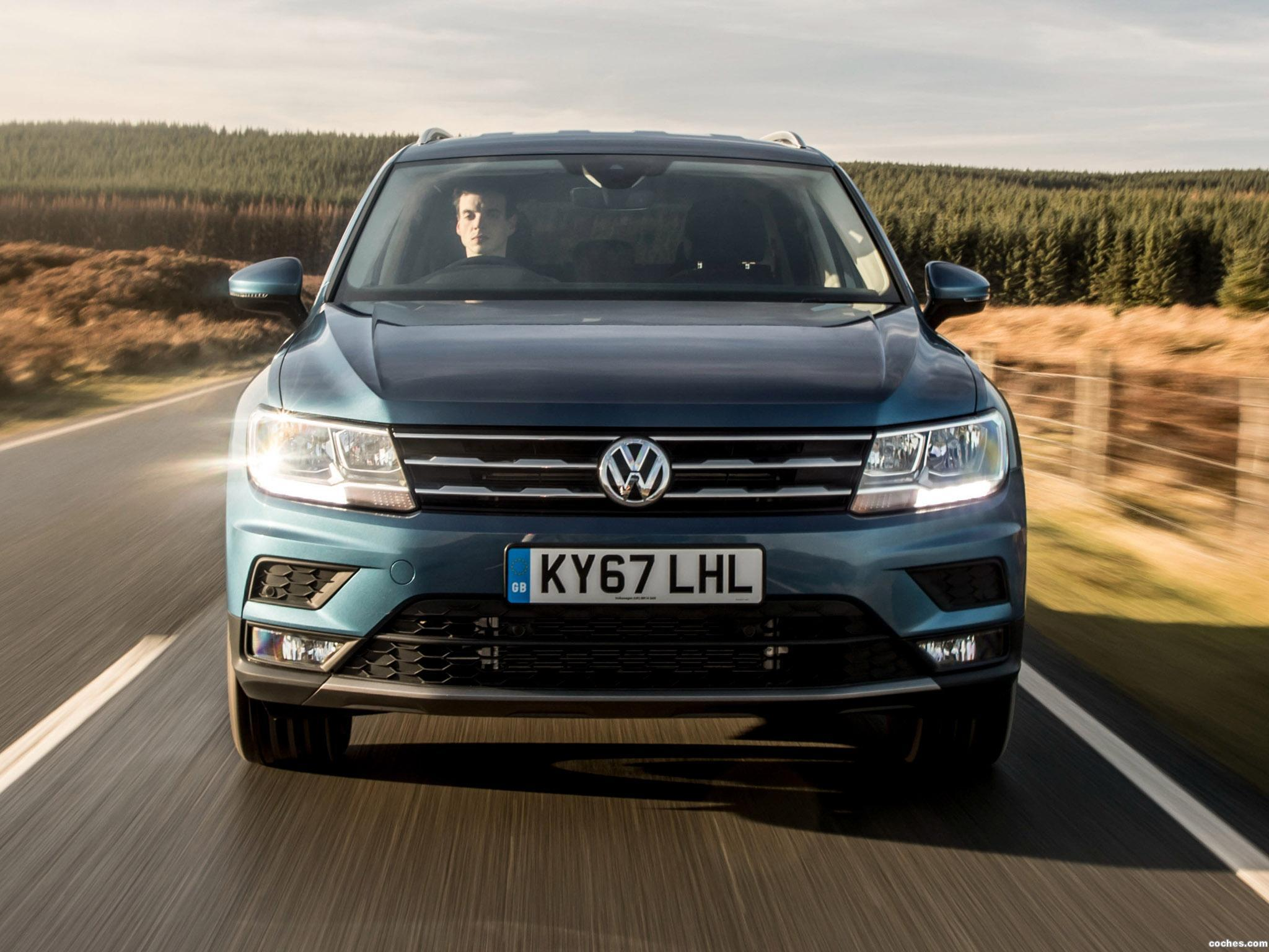 Foto 18 de Volkswagen Tiguan Allspace UK  2018