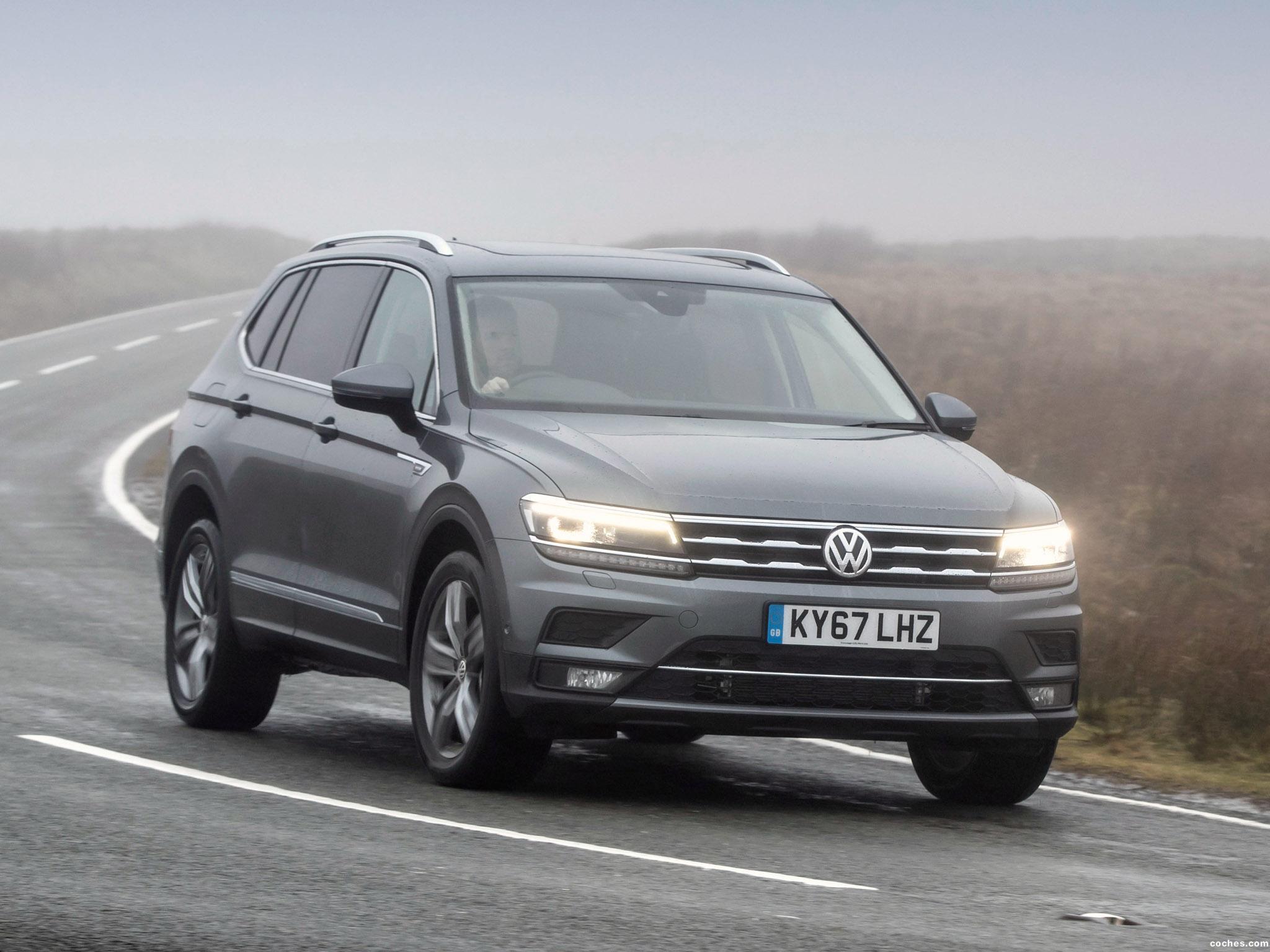 Foto 14 de Volkswagen Tiguan Allspace UK  2018