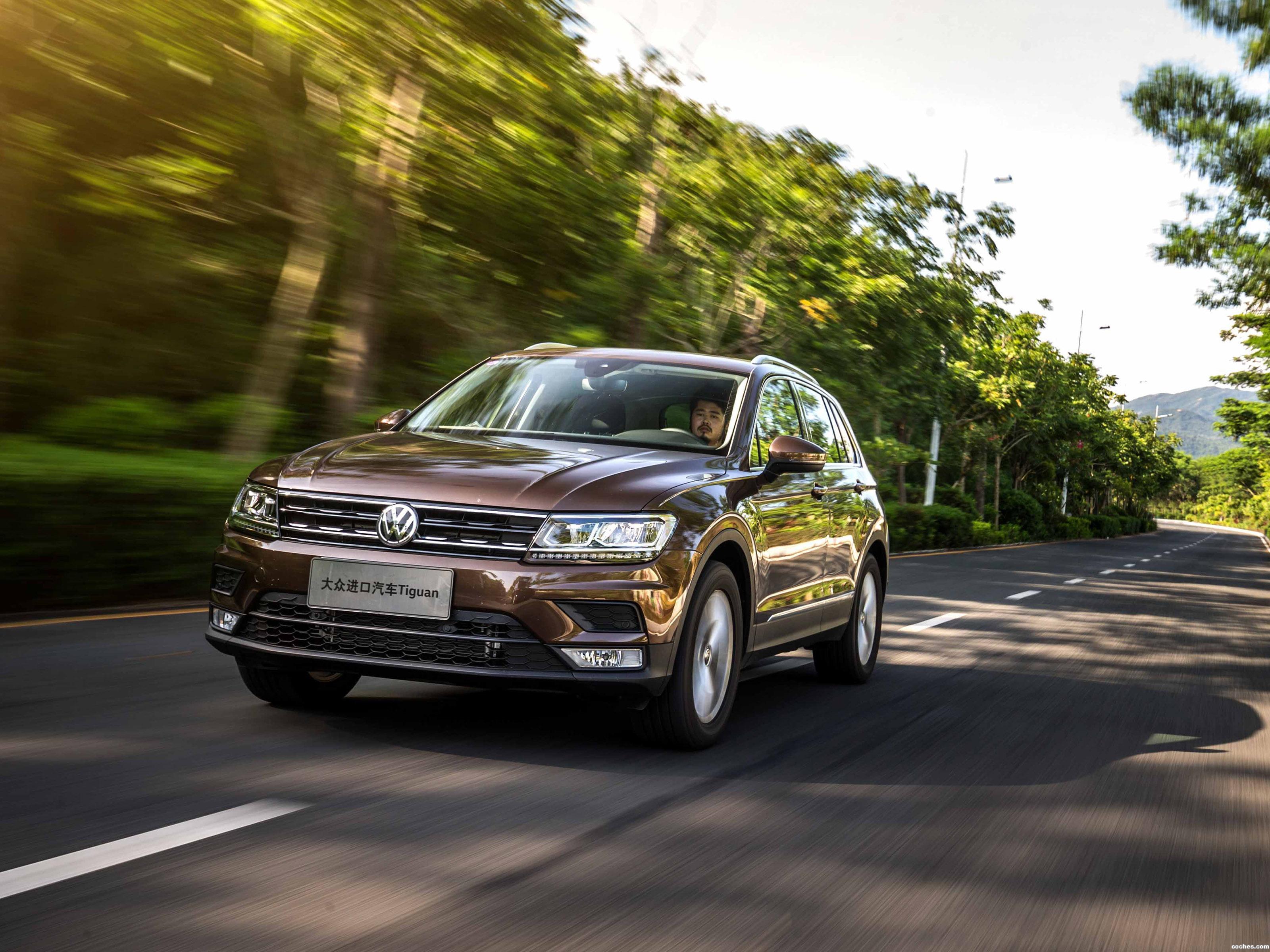 Foto 0 de Volkswagen Tiguan China  2017
