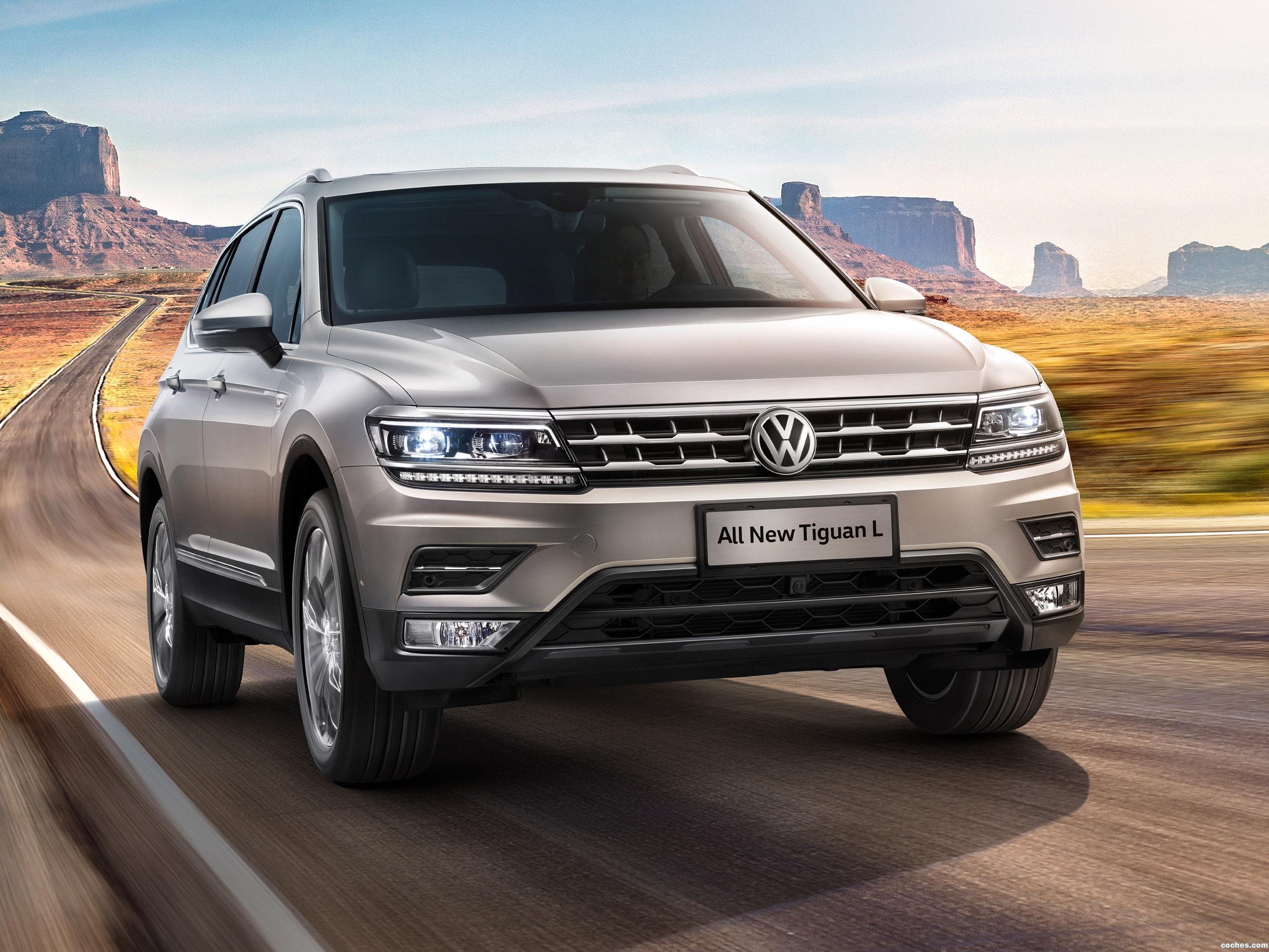 Foto 0 de Volkswagen Tiguan L China  2017