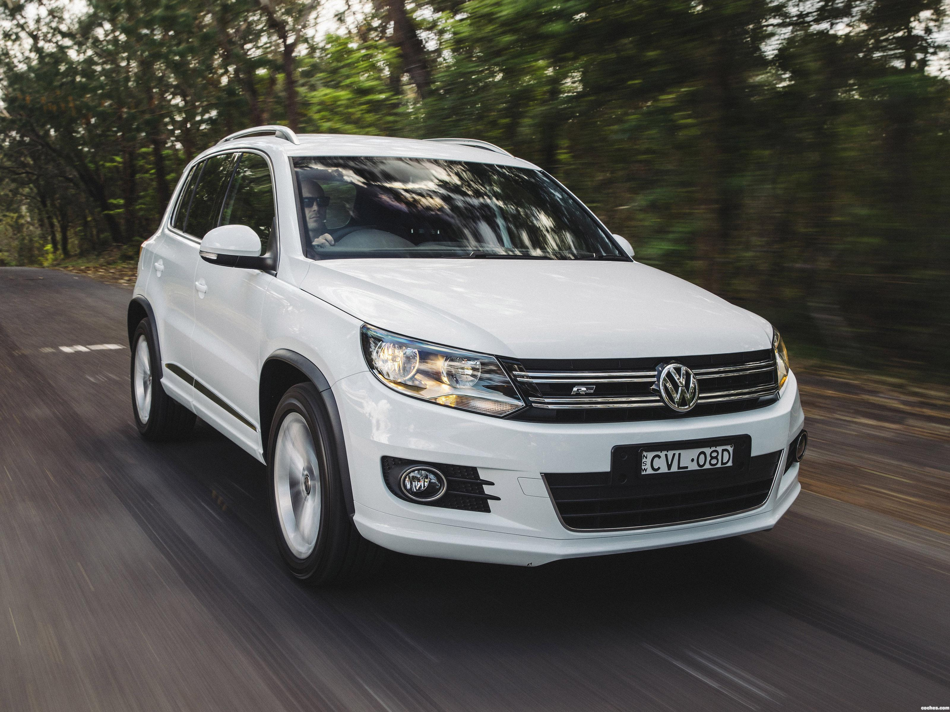 fotos de volkswagen tiguan r line australia 2014. Black Bedroom Furniture Sets. Home Design Ideas