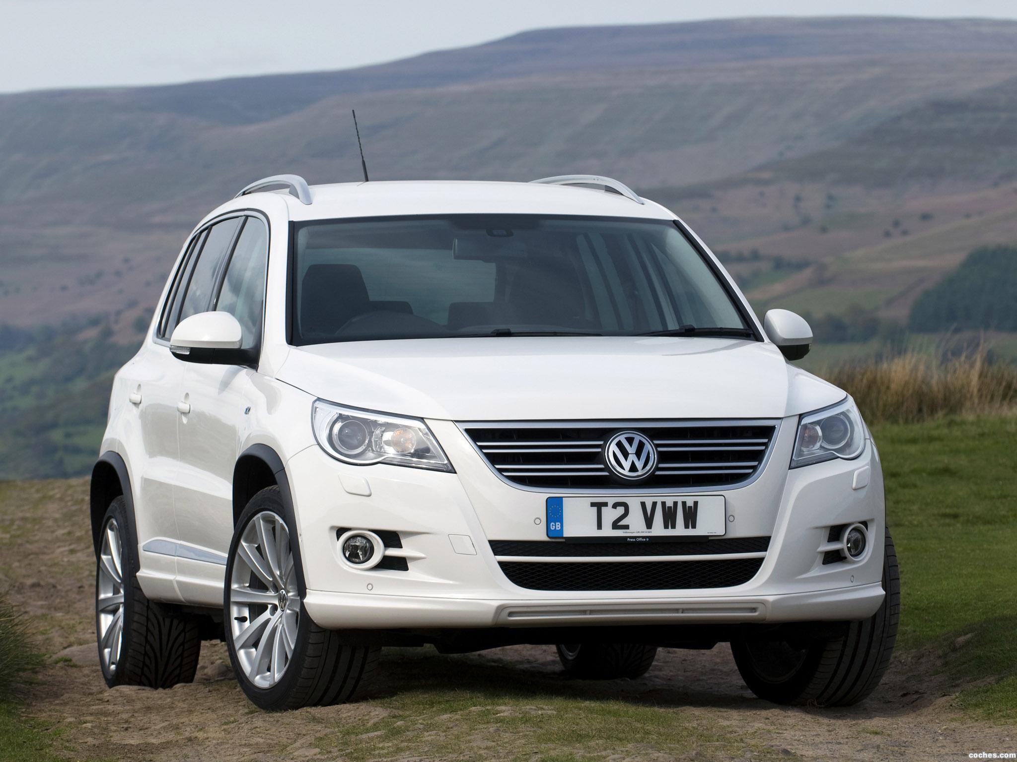 Foto 0 de Volkswagen Tiguan R-Line UK 2010