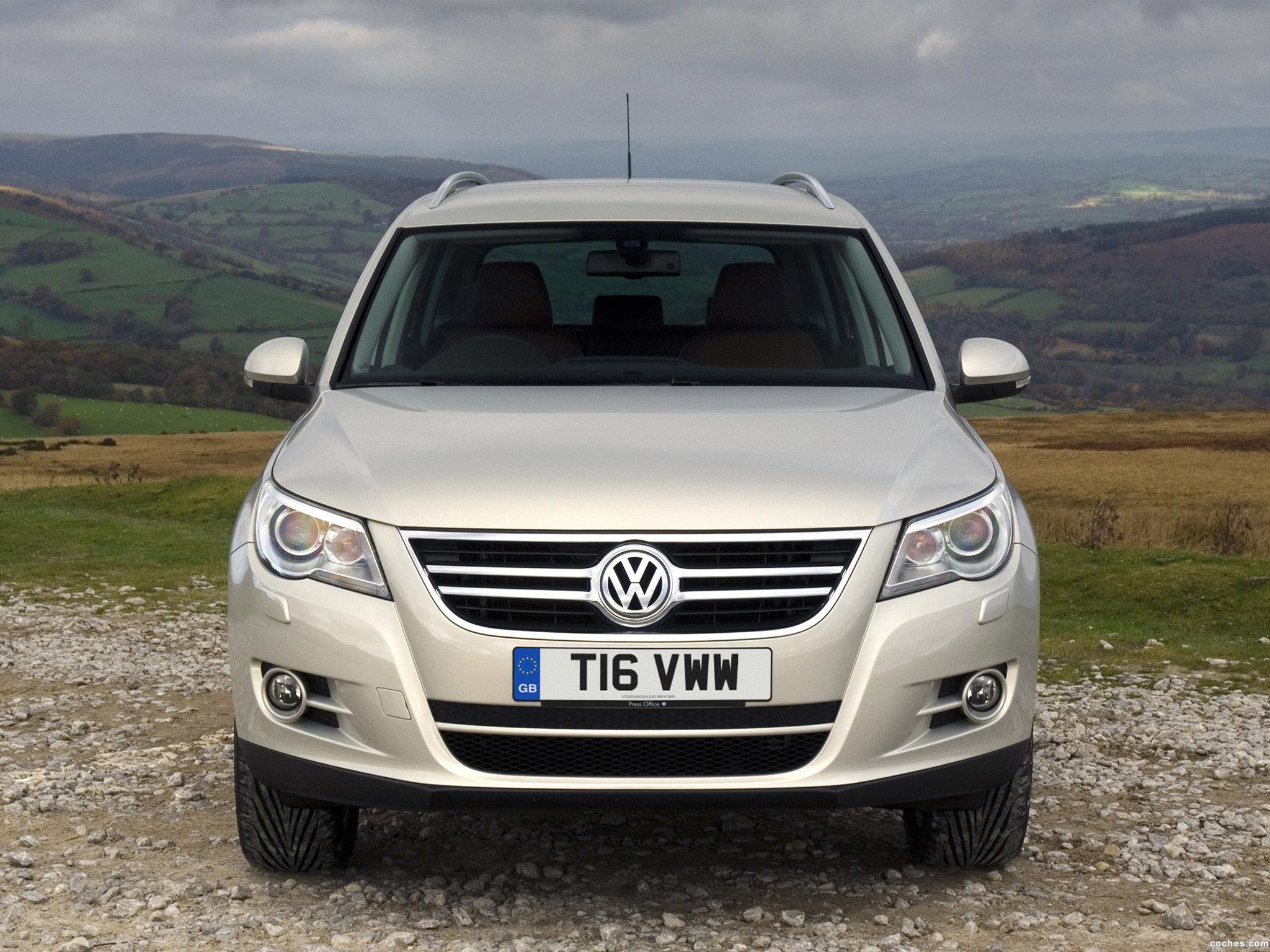 Foto 10 de Volkswagen Tiguan UK 2008