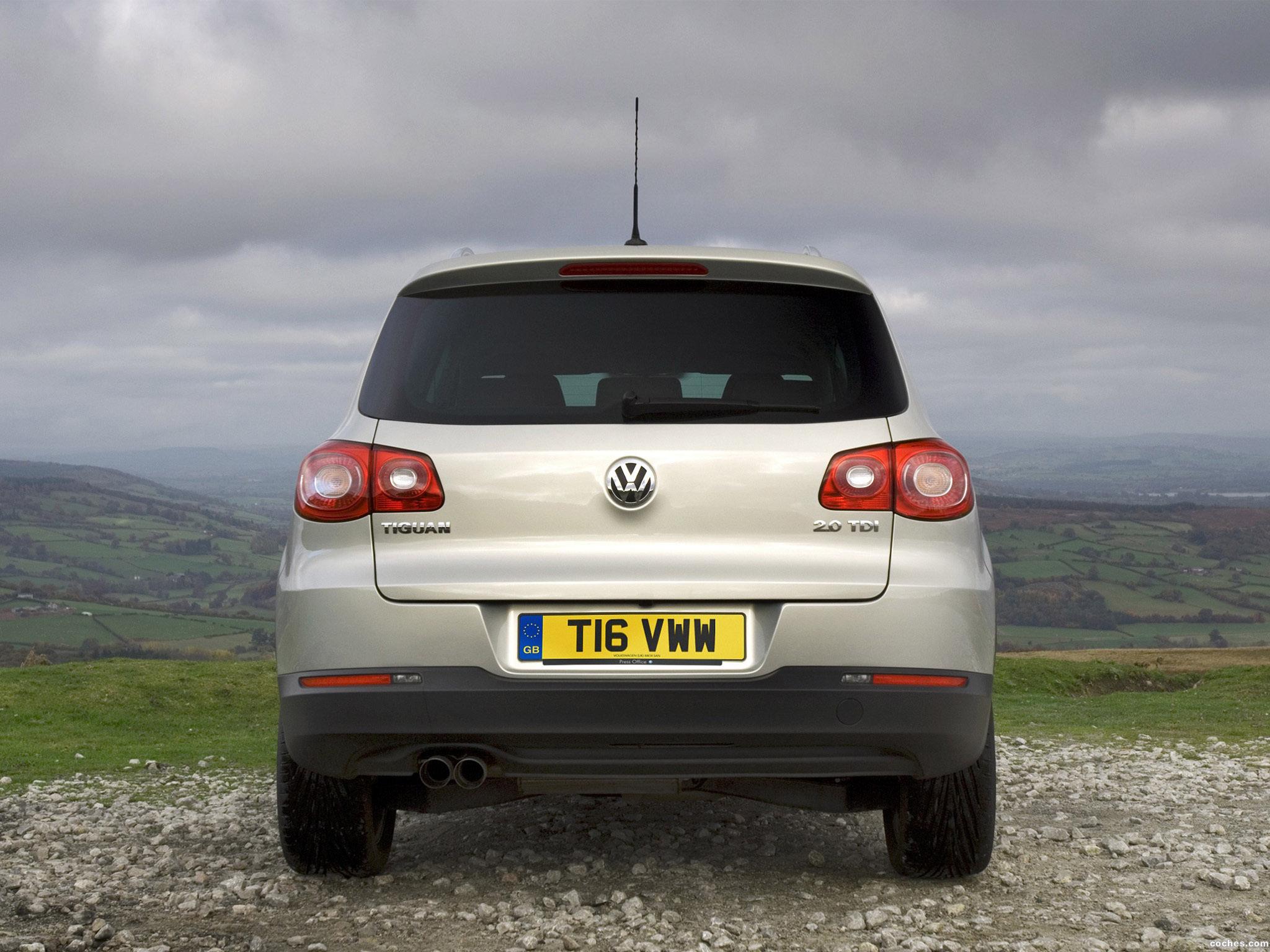 Foto 9 de Volkswagen Tiguan UK 2008