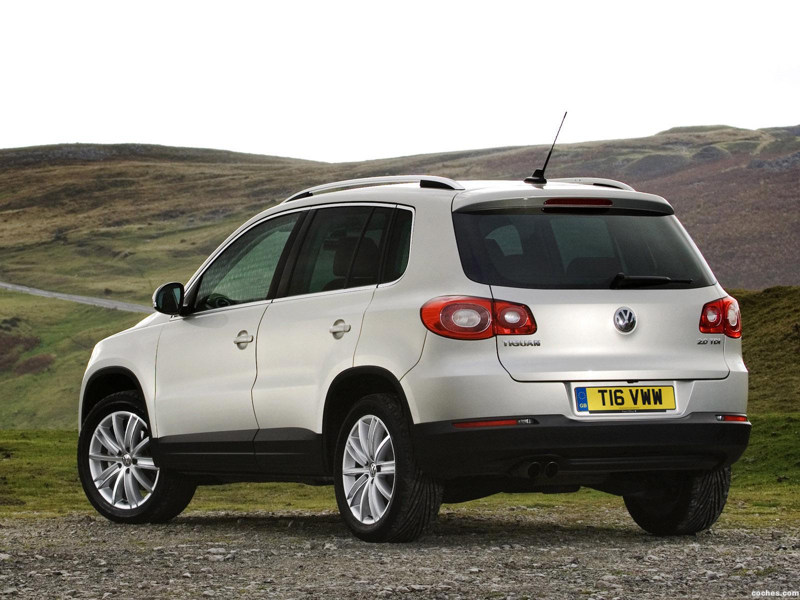 Foto 6 de Volkswagen Tiguan UK 2008