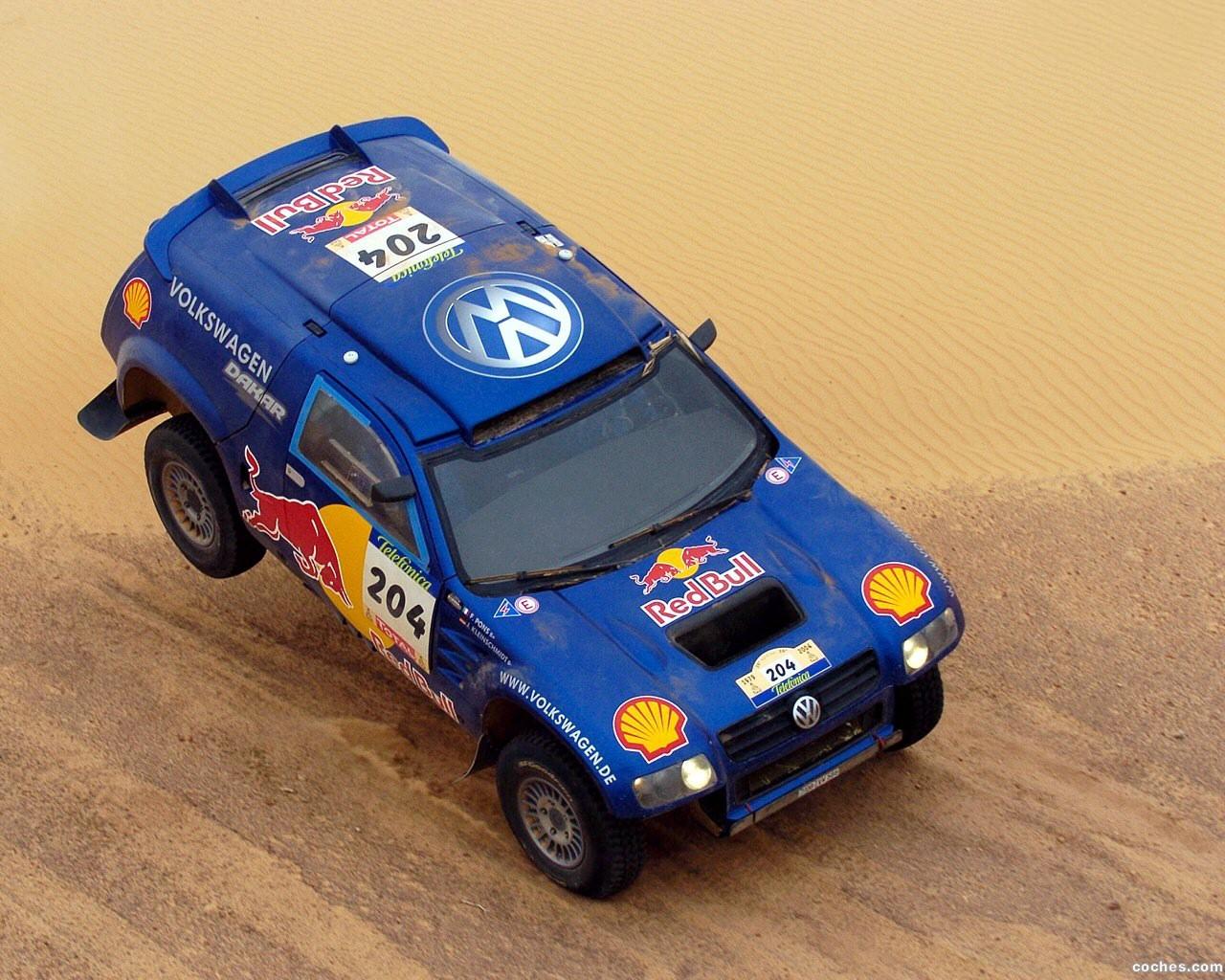 Foto 0 de Volkswagen Touareg Dakar 2004