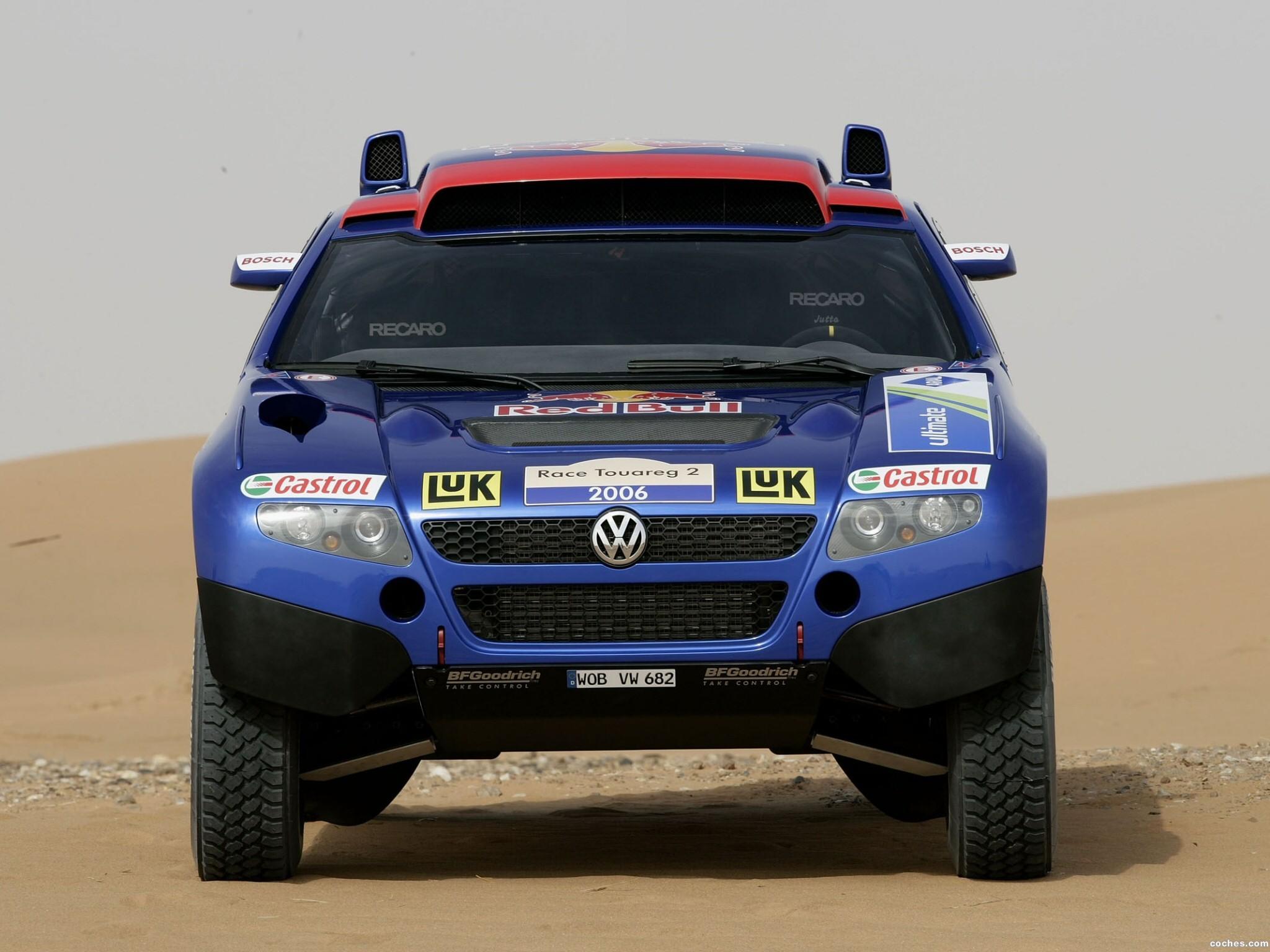 Foto 5 de Volkswagen Touareg Dakar 2006