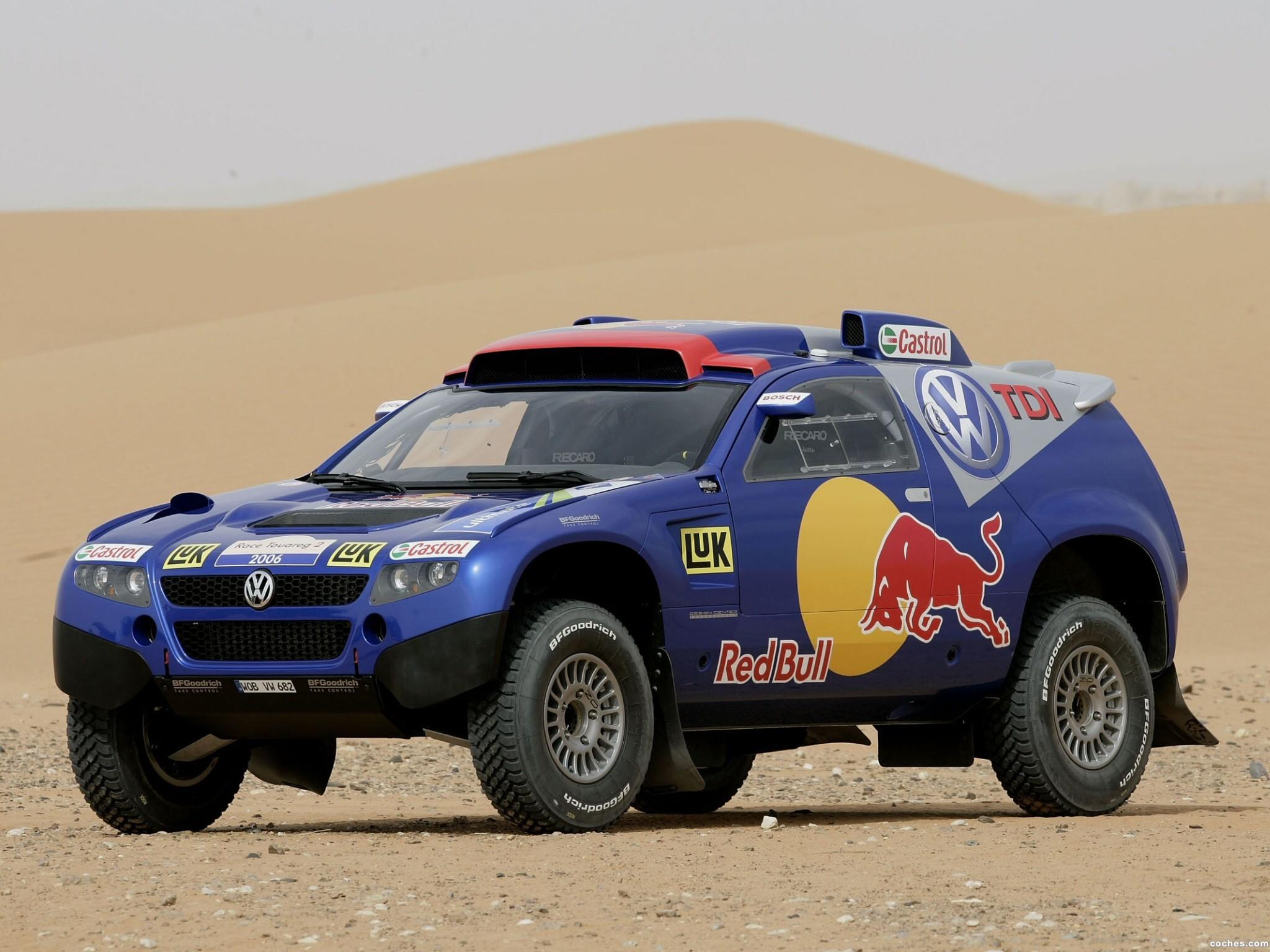 Foto 0 de Volkswagen Touareg Dakar 2006