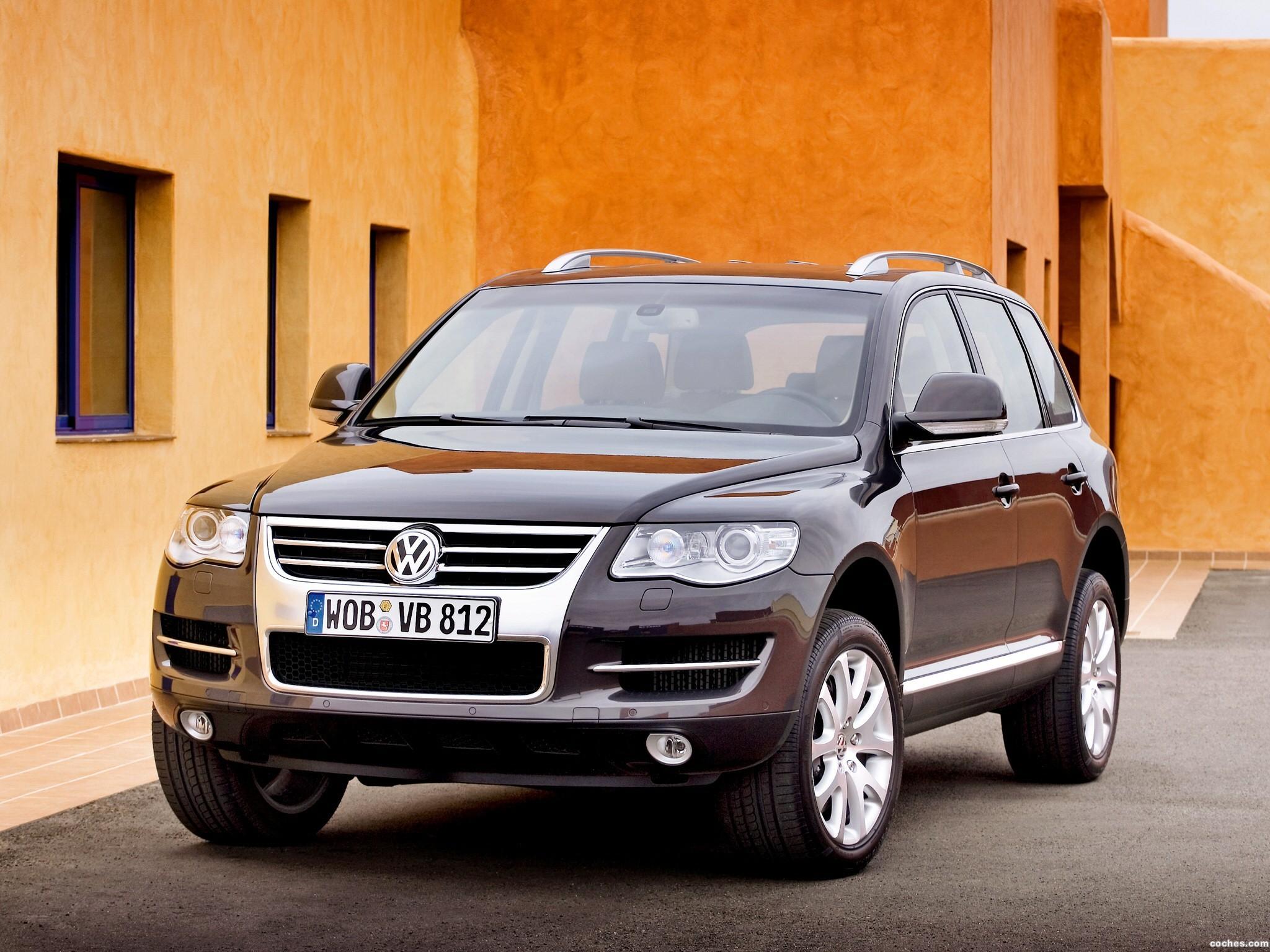 Foto 0 de Volkswagen Touareg Facelift 2006