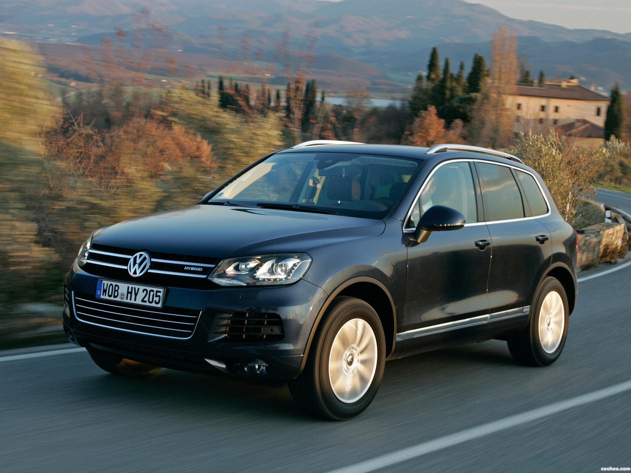 Foto 0 de Volkswagen Touareg Hybrid 2010