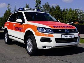 Ver foto 1 de Volkswagen Touareg Notarzt 2011