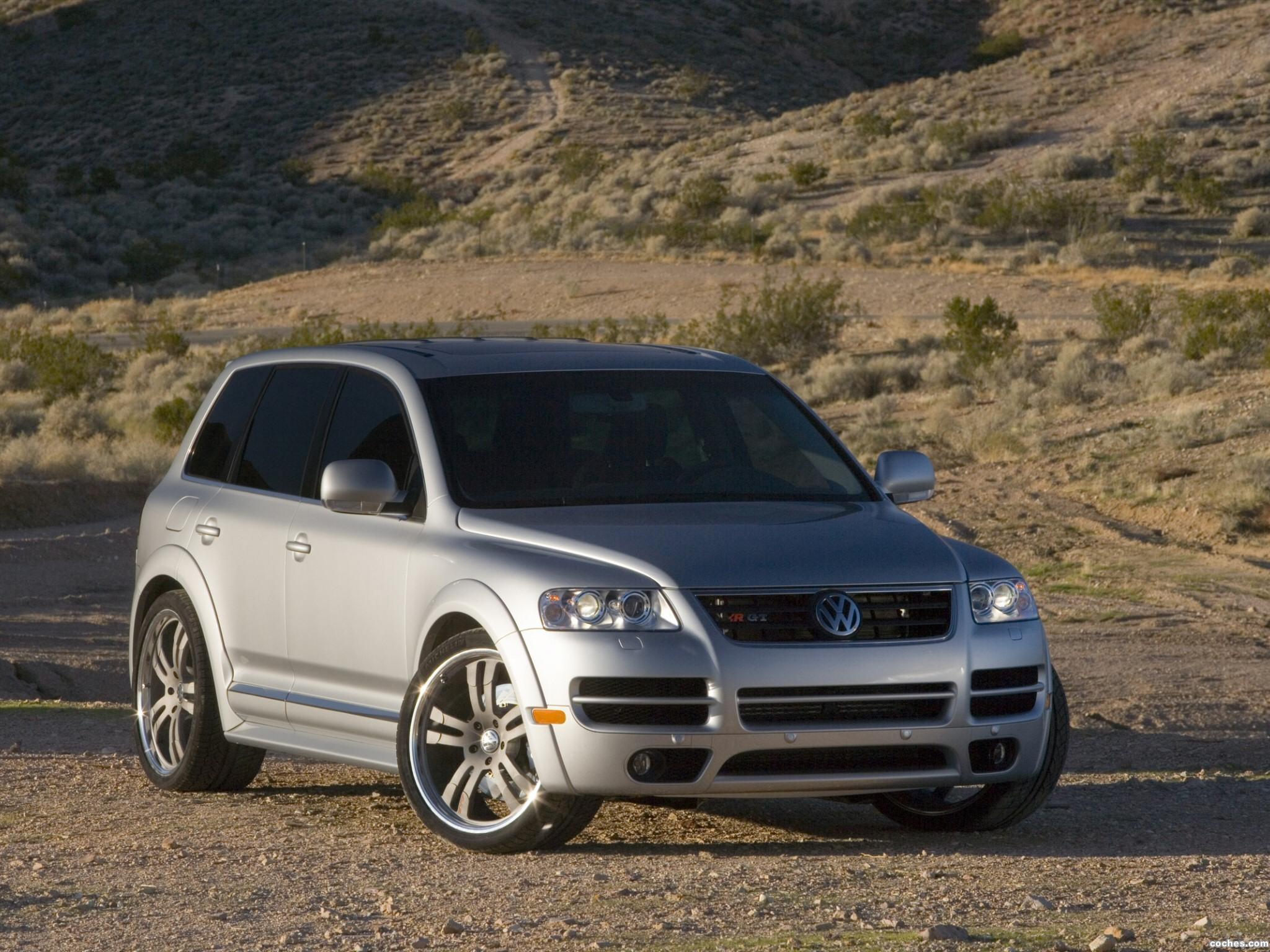 Foto 0 de Volkswagen Touareg R-GT SEMA 2005