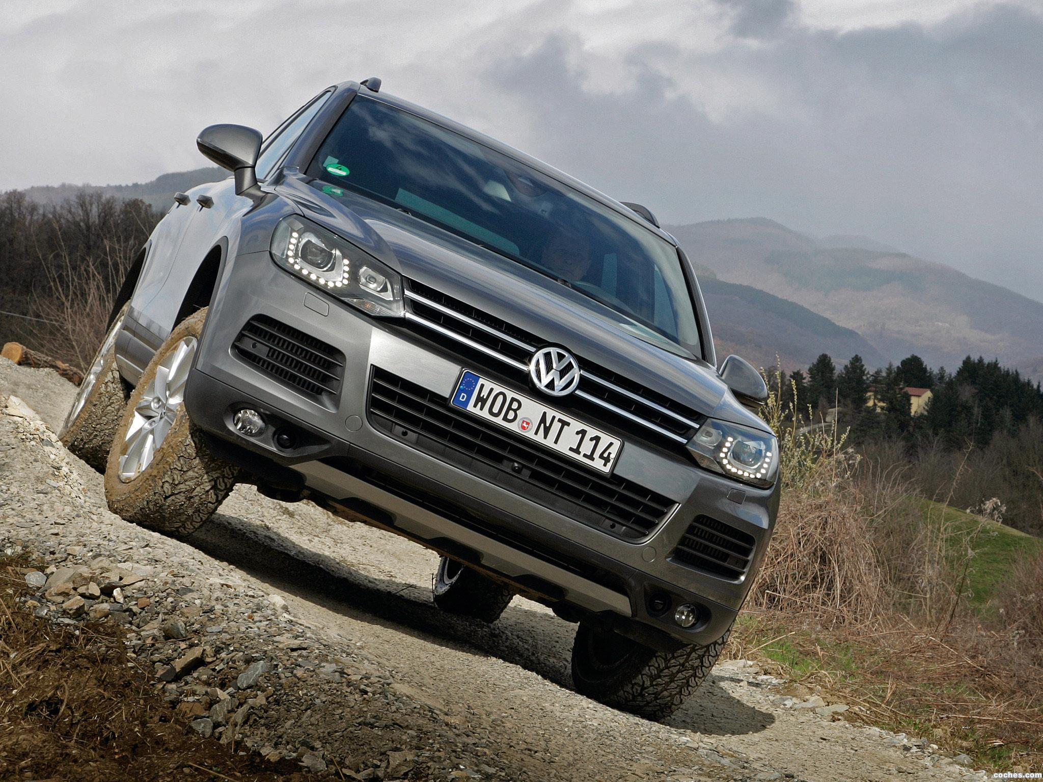 Foto 6 de Volkswagen Touareg V6 TDI Terrain Tech Paket 2010
