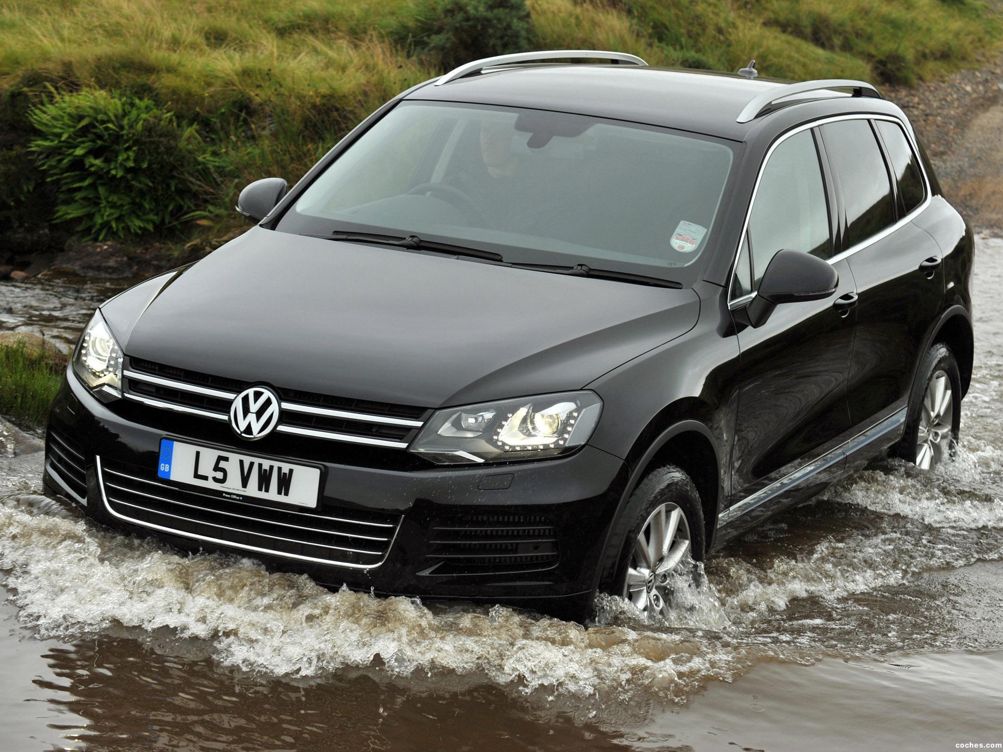 Foto 0 de Volkswagen Touareg V6 TDI UK 2010