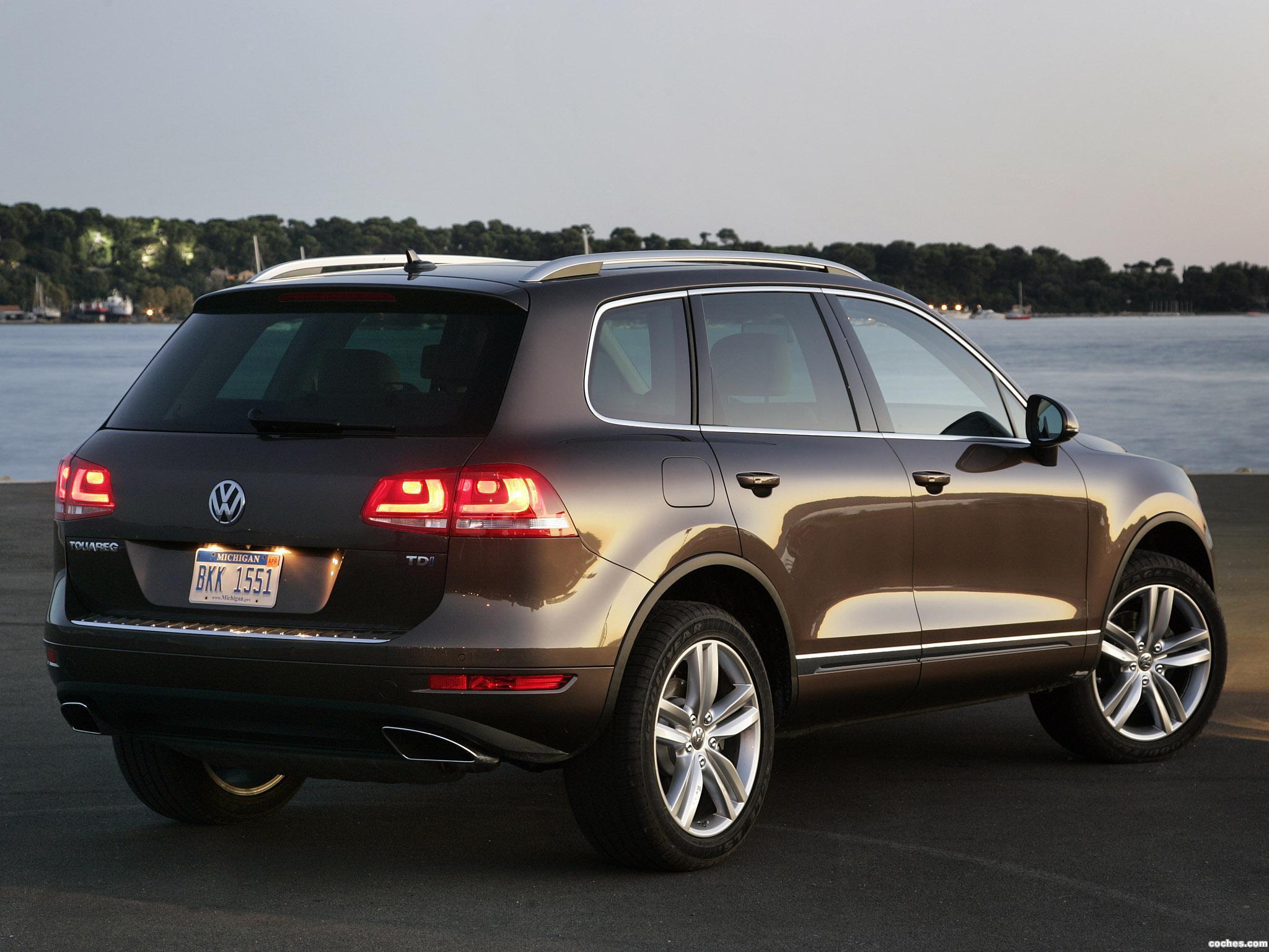Foto 1 de Volkswagen Touareg V6 TDI USA 2010