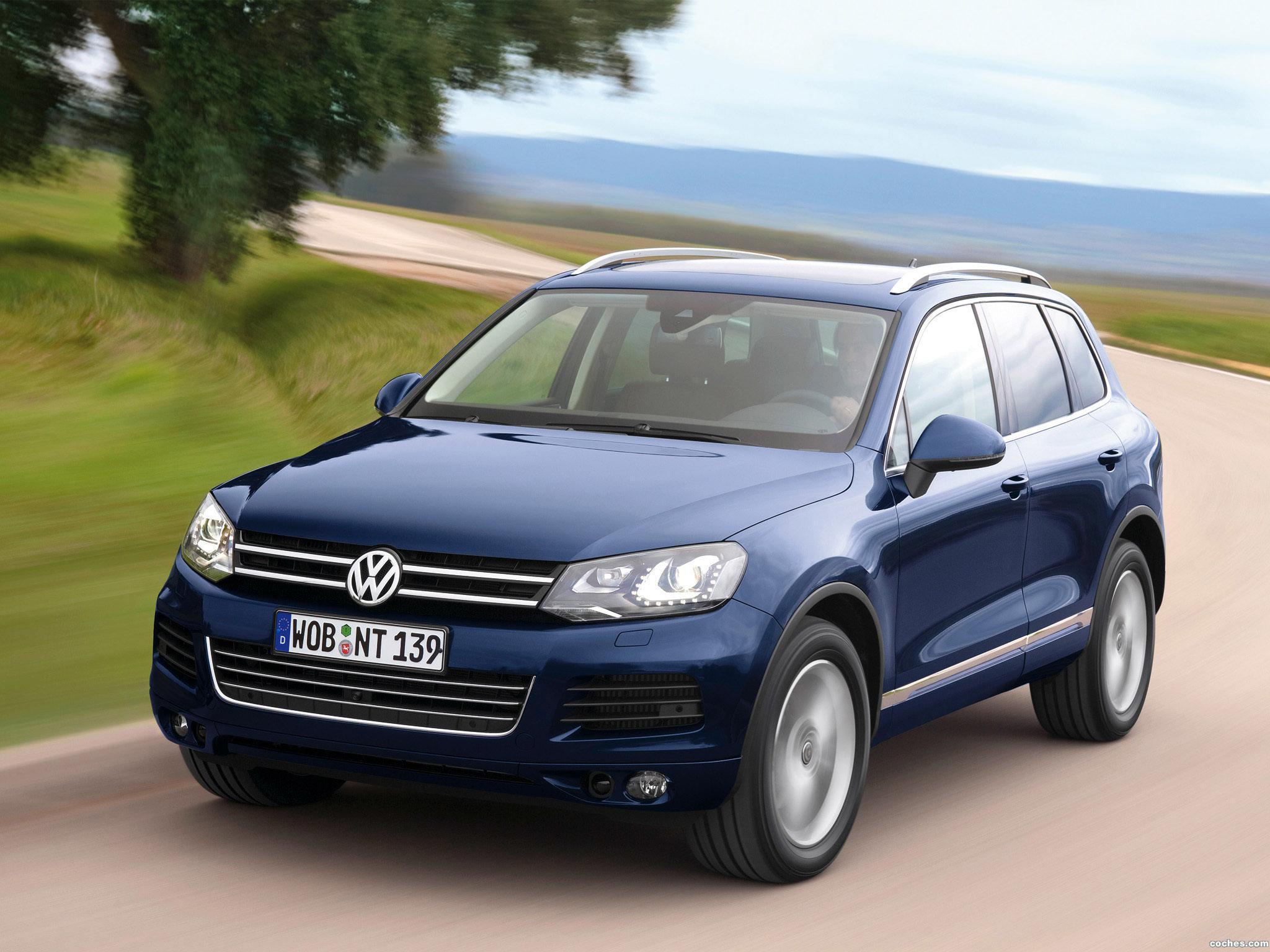 Foto 0 de Volkswagen Touareg V6 TDi BlueMotion 2010