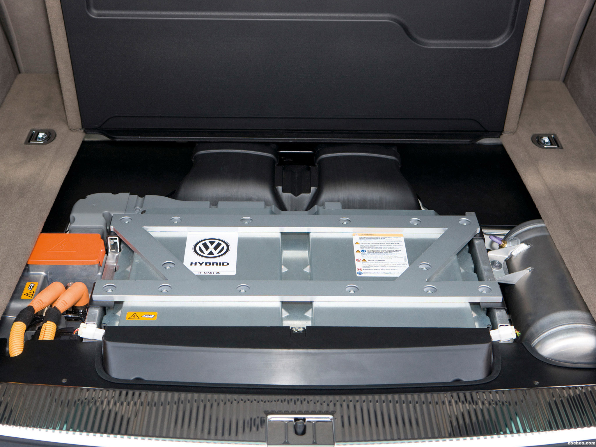 Foto 2 de Volkswagen Touareg V6 TSI Hybrid 2010
